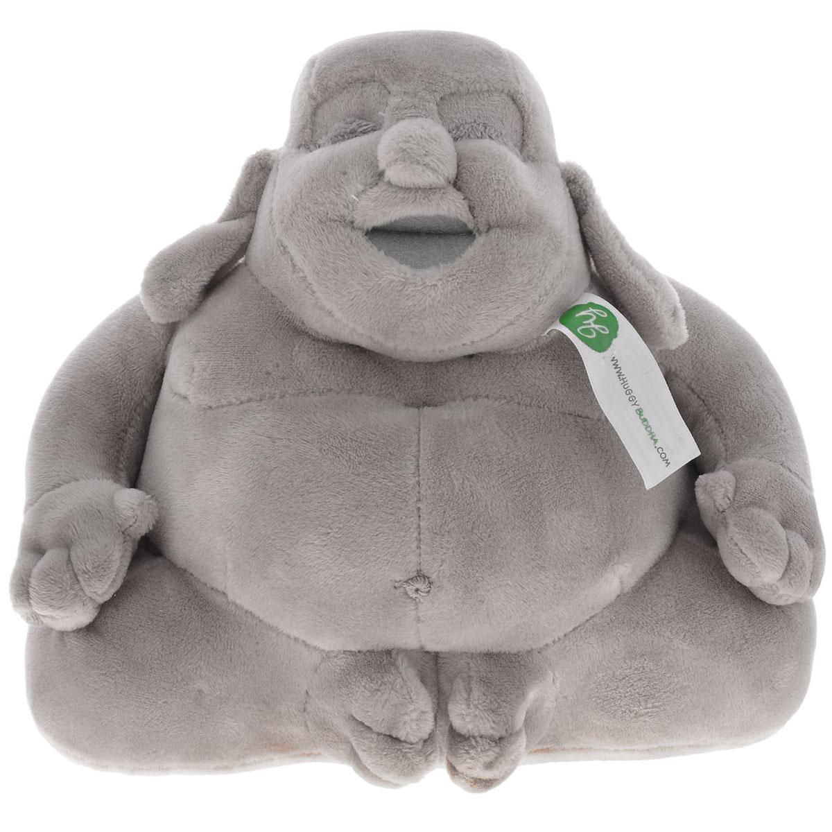 Мягкая игрушка Huggy Buddha Junior, цвет: серый, 18 смHBJgreyМягкая игрушка Huggy Buddha Junior выполнена из приятного на ощупь материала в виде фигуры Будды. Плюшевая фигура принесет вам и вашим близким удачу, богатство и многие другие блага. Такой талисман станет приятным украшением в любом доме - благодаря уникальному дизайну и высокому качеству исполнения. Дарить Huggy Buddha можно как взрослым, так и детям всех возрастов. Внесите в свой дом частицу спокойствия и благополучия - и делитесь этим с близкими вместе с прекрасными фигурками плюшевого Будды!