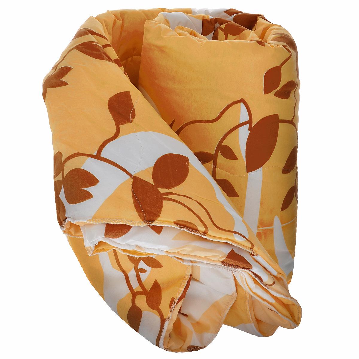 Одеяло Ник Мечта, наполнитель: термофайбер, цвет: желтый, 170 х 205 смОМ-170-205_желтыйОдеяло Ник приятно удивит вас и создаст атмосферу тепла и комфорта в вашем доме. Одеяло изготовлено из полиэстера, а наполнителем является термофайбер. Термофайбер - нетканое полотно, состоящее из полого полиэфирного силиконизированного и легкоплавкого волокон. Полое силиконизированное полиэфионое волокно - это великолепный современный наполнитель для постельных принадлежностей. Соединяясь между собой, волокна образуют упругую пружинистую структуру. Благодаря ей наполнитель удерживает тепло в холодную погоду и не препятствует свободной циркуляции воздуха для удаления влаги в жаркую погоду. Наполнитель не сваливается и не приминается, великолепно сохраняя форму даже после многократных стирок и сушек, подходит людям, страдающим аллергией на пух и перья. Свойства термофайбера: - отличные теплоизоляционные свойства; - воздухопроницаемость; - гипоаллергенность; - простой и легкий уход; - быстро высыхает и восстанавливает объем после...