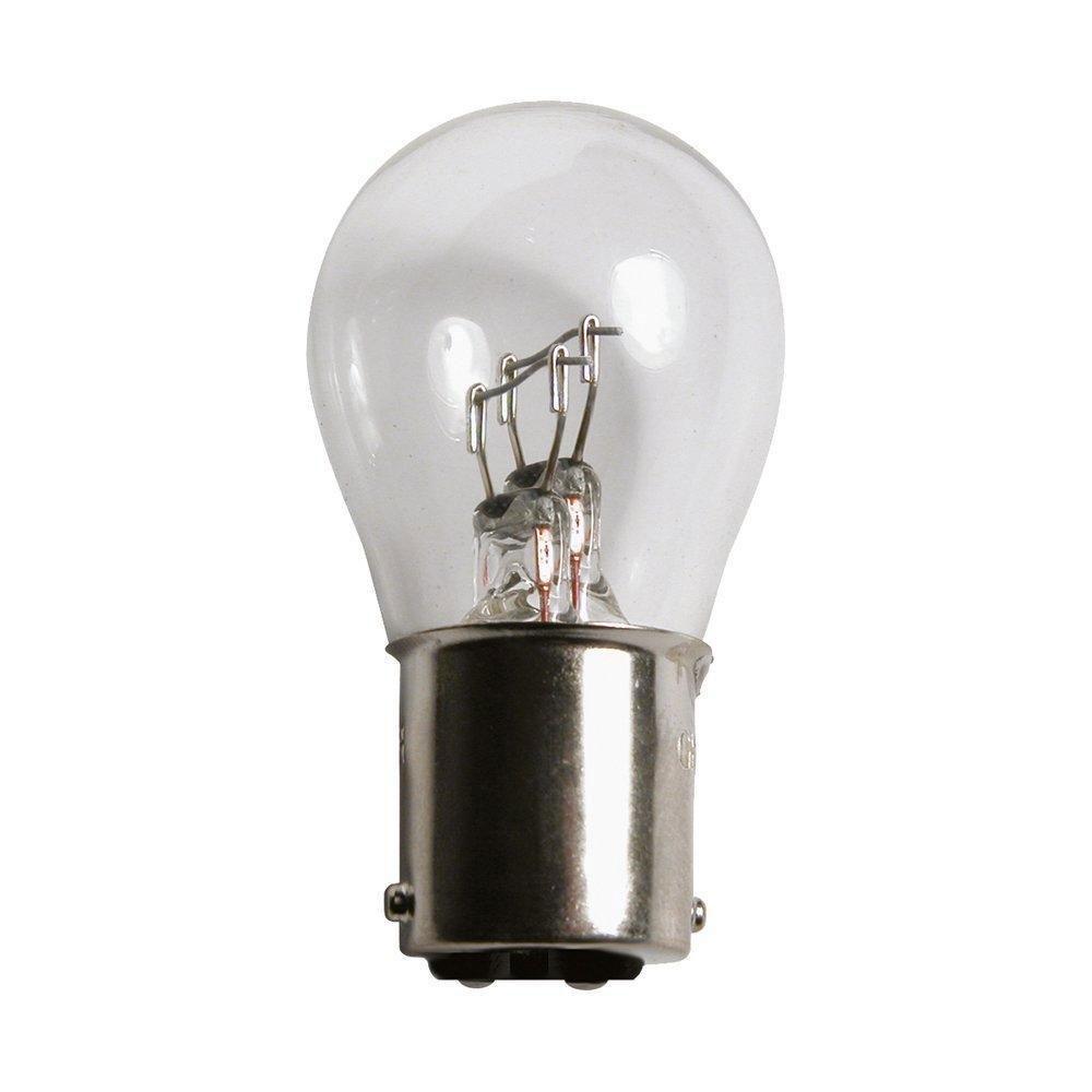 Лампа автомобильная галогенная Philips Glow, для фар, цоколь P21/5W (BАY15d), 24V, 21/5W, 2 шт13499B2 (бл.2)Автомобильная галогенная лампа Philips Glow произведена из запатентованного кварцевого стекла с УФ-фильтром Philips Quartz Glass. Кварцевое стекло Philips с УФ фильтром в отличие от обычного твердого стекла выдерживает гораздо большее давление смеси газов внутри колбы, что препятствует быстрому испарению вольфрама с нити накаливания. Кварцевое стекло выдерживает большой перепад температур, при попадании влаги на работающую лампу изделие не взрывается и продолжает работать. Автомобильная лампа Philips Glow с напряжением питания 24 В предназначена для автобусов и грузовиков, она создает максимальную безопасность и комфорт при вождении, а также отличается экономичностью, непревзойденным сроком службы и повышенной устойчивостью к вибрациям. Такие лампы являются отличным световым решением, соответствуют стандартам качества для оригинального оборудования и обеспечивают максимальную производительность и минимальное время простоя. Автомобильные галогенные лампы...