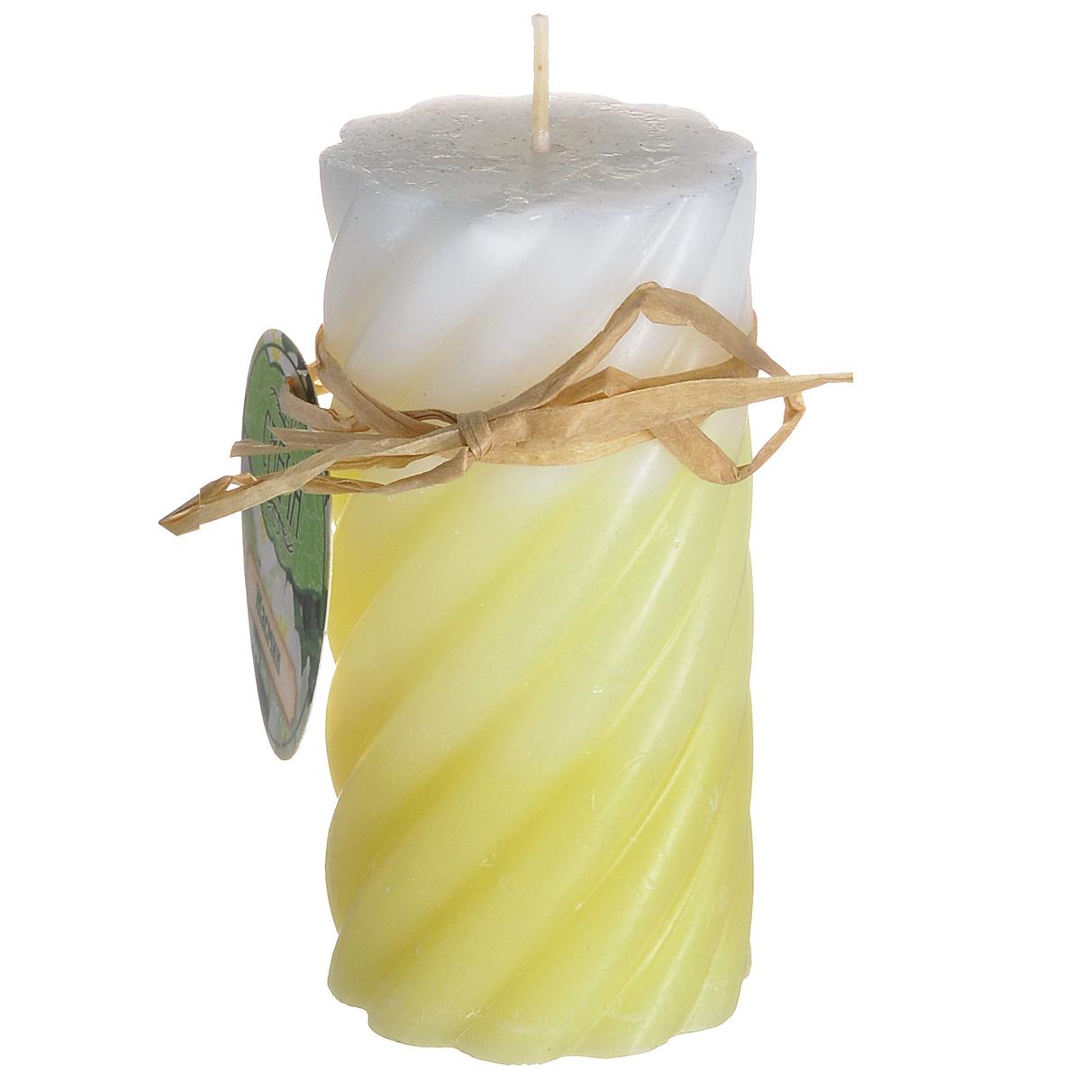 Свеча ароматизированная Sima-land Жасмин, высота 10 см. 849558849558Свеча Sima-land Жасмин выполнена из воска в виде столбика и оформлена волнообразным рельефом. Изделие порадует ярким дизайном и приятным ароматом жасмина, который понравится как женщинам, так и мужчинам. Создайте для себя и своих близких незабываемую атмосферу праздника в доме. Ароматическая свеча Sima-land Жасмин может стать не только отличным подарком, но и гарантией хорошего настроения, ведь это красивая вещь из качественного, безопасного для здоровья материала.