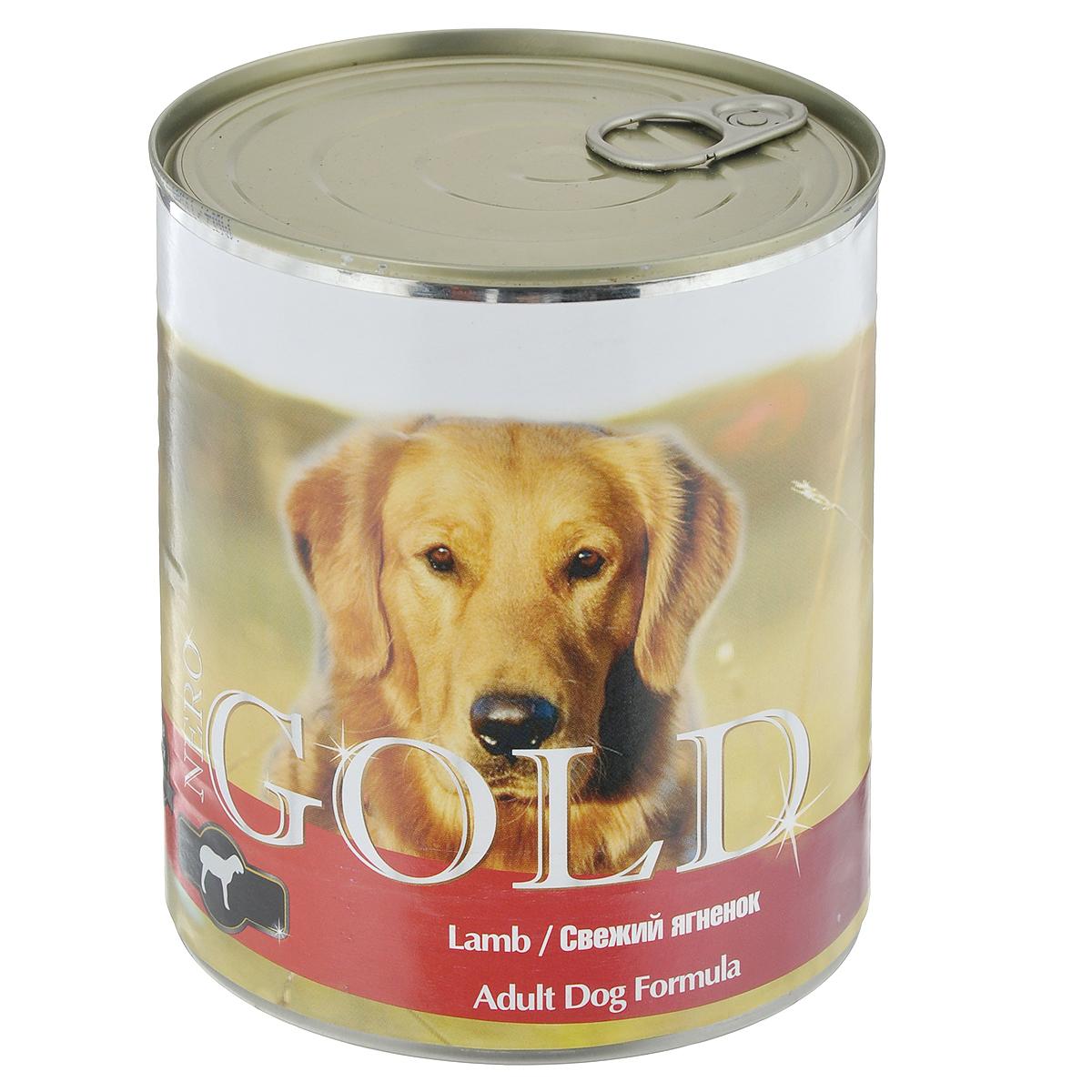 Консервы для собак Nero Gold, свежий ягненок, 810 г10324Консервы для собак Nero Gold - полнорационный продукт, содержащий все необходимые витамины и минералы, сбалансированный для поддержания оптимального здоровья вашего питомца! Состав: мясо и его производные, филе курицы, филе ягненка, злаки, витамины и минералы. Гарантированный анализ: белки 6,5%, жиры 4,5%, клетчатка 0,5%, зола 2%, влага 81%. Пищевые добавки на 1 кг продукта: витамин А 1600 МЕ, витамин D 140 МЕ, витамин Е 10 МЕ, железо 24 мг, марганец 6 мг, цинк 15 мг, медь 1 мг, магний 200 мг, йод 0,3 мг, селен 0,2 мг. Вес: 810 г. Товар сертифицирован.