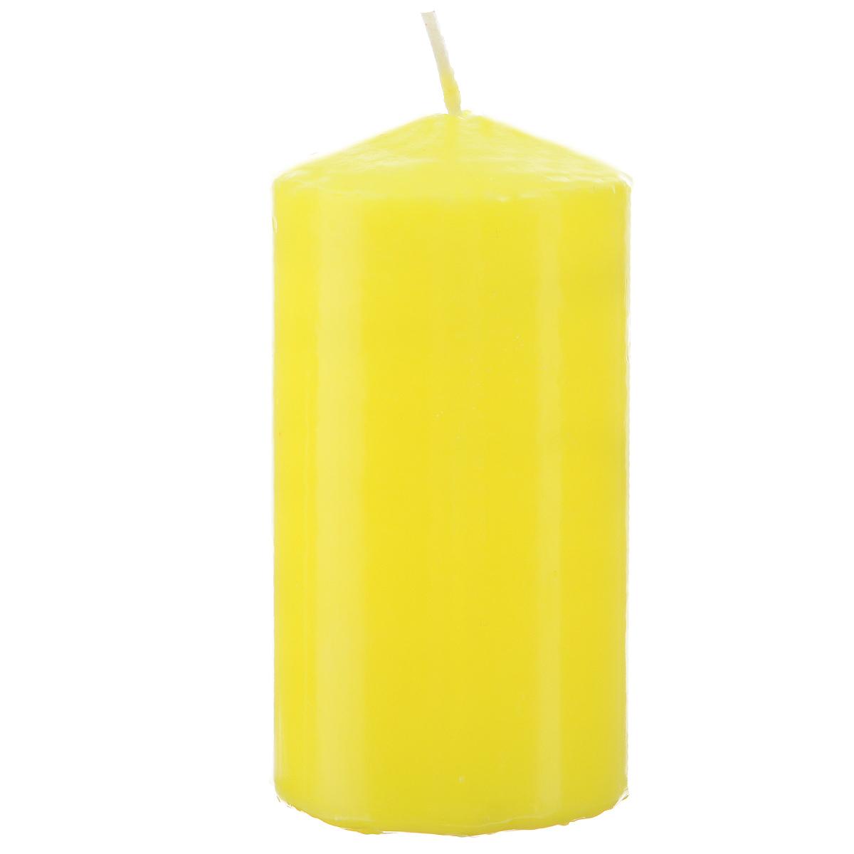 Свеча Sima-land Аромат огня, цвет: желтый, высота 10 см. 175485175485Свеча Sima-land Аромат огня выполнена из парафина в классическом стиле. Изделие порадует вас ярким дизайном. Такую свечу можно поставить в любое место и она станет ярким украшением интерьера. Свеча Sima-land создаст незабываемую атмосферу, будь то торжество, романтический вечер или будничный день.