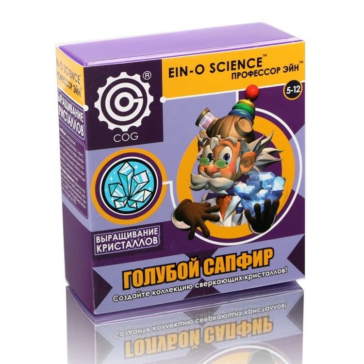 Профессор Эйн: Голубой сапфирE2383SBВыращивание кристаллов - очень увлекательное и познавательное занятие. Подробная инструкция расскажет ребёнку о том, как вырастить красивые кристаллы дома и об их свойствах.