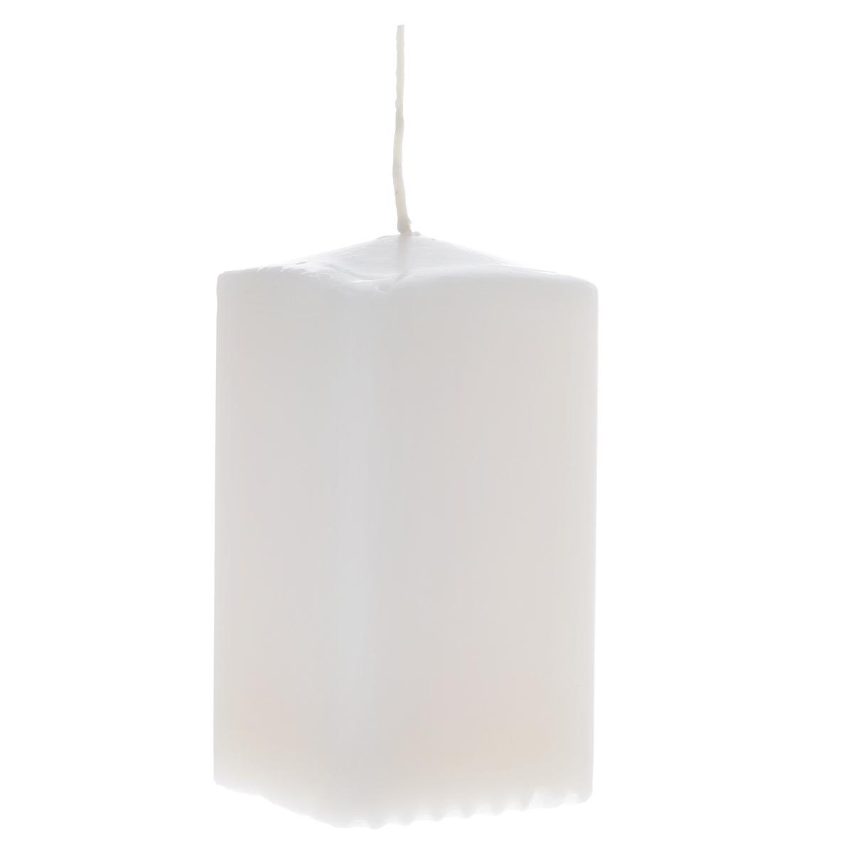 Свеча Sima-land Аромат огня, цвет: белый, высота 10 см. 175474175474Свеча Sima-land Аромат огня выполнена из парафина в классическом стиле. Изделие порадует вас ярким дизайном. Такую свечу можно поставить в любое место и она станет ярким украшением интерьера. Свеча Sima-land Аромат огня создаст незабываемую атмосферу, будь то торжество, романтический вечер или будничный день.