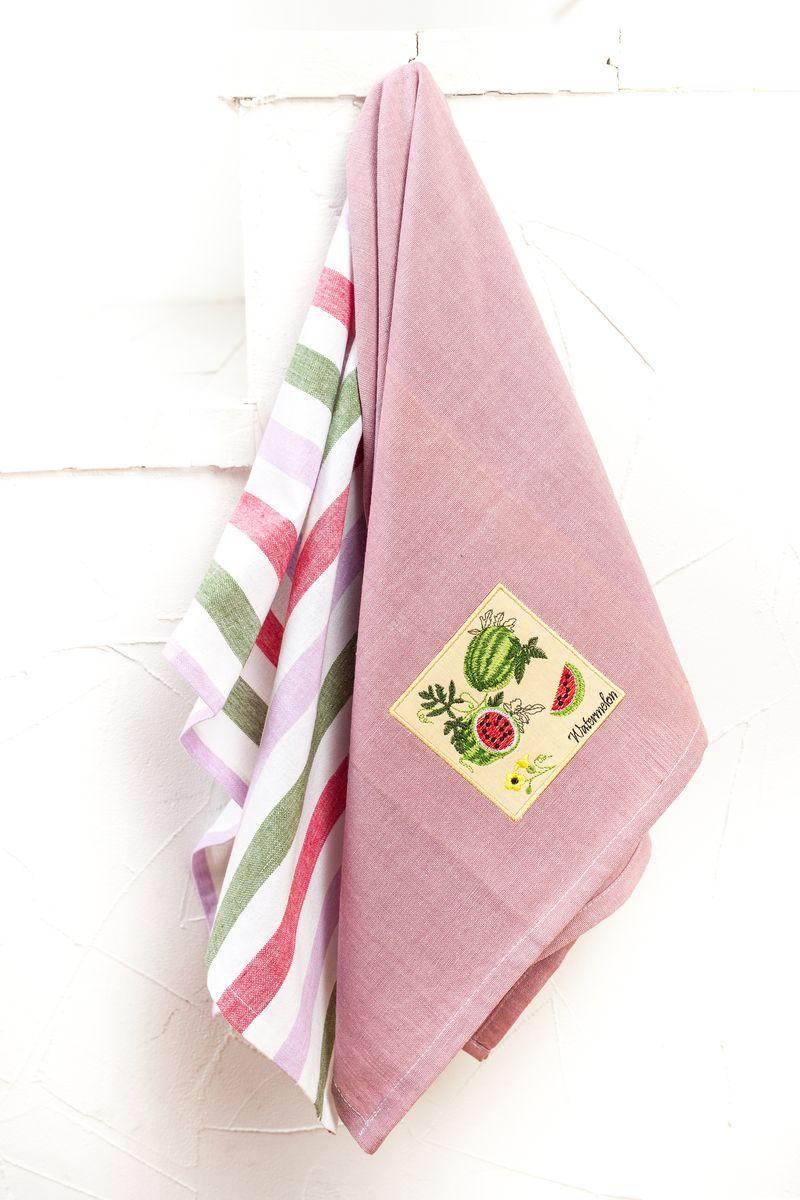 """Арлони Arloni Набор полотенец для кухни Arloni """"Арбуз"""", 45 х 70 см, 2 шт"""