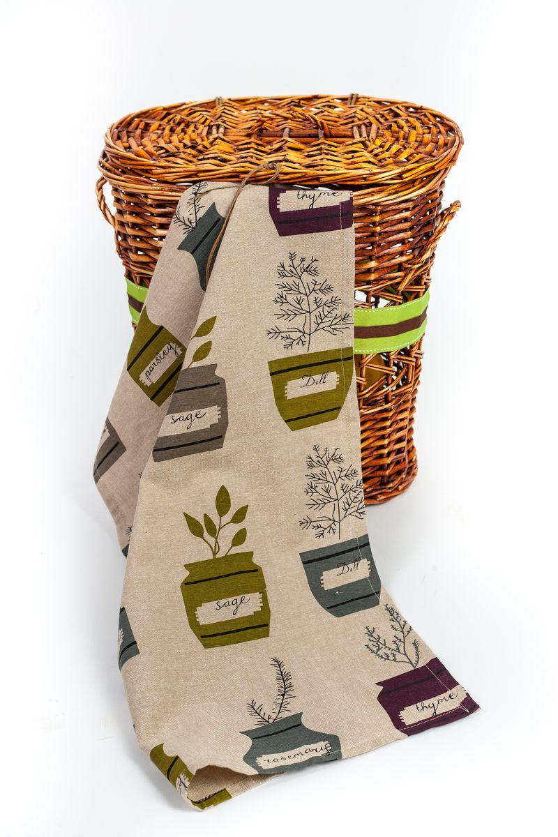 Полотенце для кухни Arloni Пряные травы, 45 х 70 см