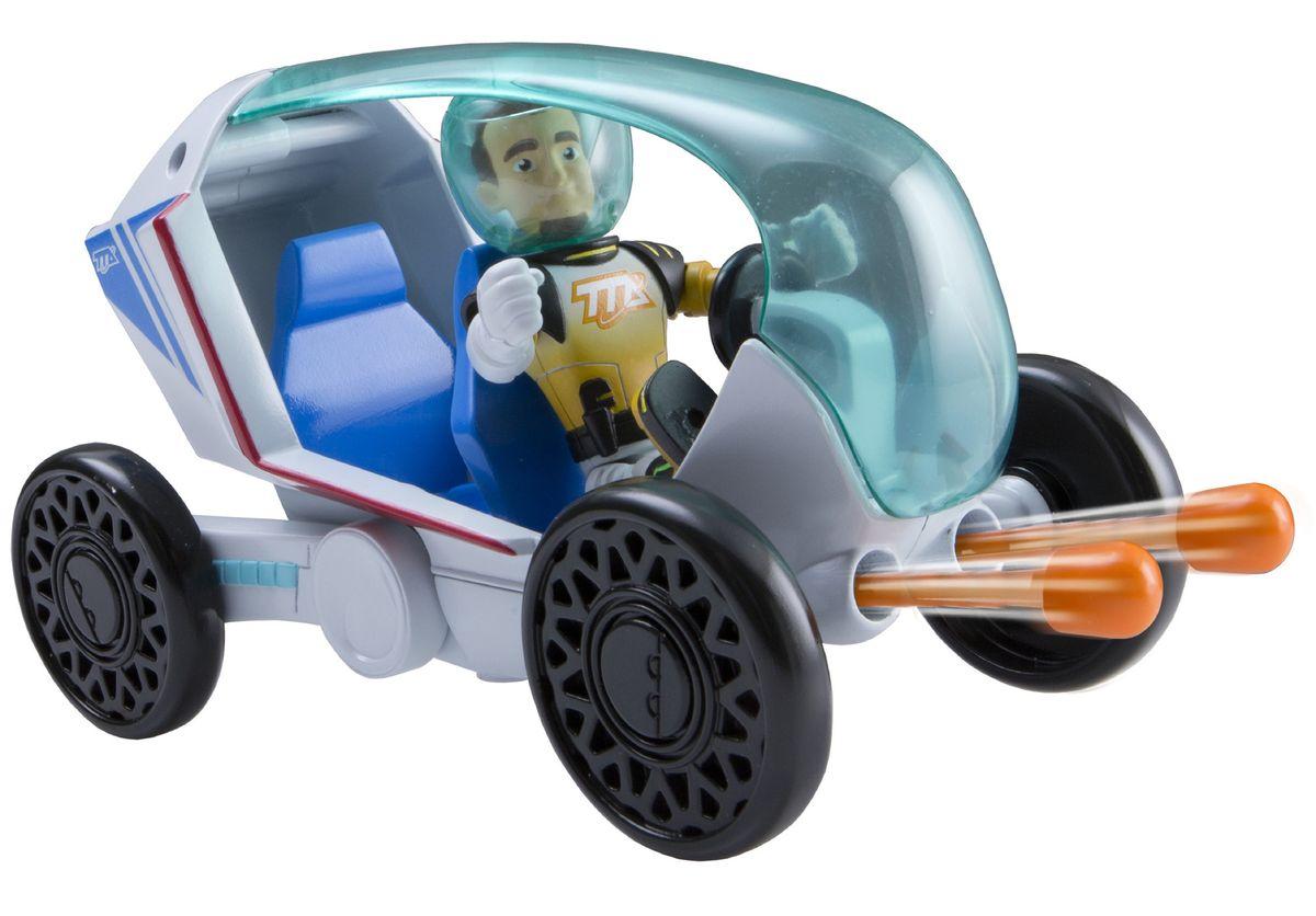 Miles from Tomorrowland Игровой набор Космический вездеход86203Космический вездеход - это машина, созданная по мотивам мультсериала Майлз с другой планеты. Космический вездеход снабжен стрелами. Для выстрела нужно нажать на заднюю часть вездехода, предварительно вставив стрелы в отверстия. В кабине вездехода, прикрытой прозрачным голубоватым колпаком, можно разместить две фигурки соответствующего размера, одна из которых - Лео - уже в комплекте. Уникальная игрушка выполнена из экологически чистого и очень прочного пластика, который совершенно безопасен для детских игр. Ваш ребенок часами будет играть с такой игрушкой, придумывая различные истории. Порадуйте его таким замечательным подарком!