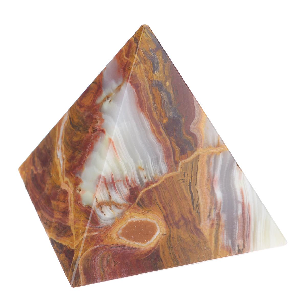Сувенир Sima-land Пирамида, 7,5 см х 7,5 см х 8 см - Sima-land835171Сувенир Sima-land Пирамида выполнен из натурального оникса. Этот камень помогает снимать стрессы, облегчает боль, способствует эмоциональному равновесию и самоконтролю. Его применяют при расстройстве нервной системы, депрессиях, бессоннице, при лечении болезней сердца. Оникс хорошо снимает боли и уменьшает воспаления. Сувенир Sima-land Пирамида станет отличным подарком на любой праздник и дополнит интерьер вашей комнаты. УВАЖАЕМЫЕ КЛИЕНТЫ! Обращаем ваше внимание на тот факт, что цветовой оттенок товара может отличатся от представленного на изображении, поскольку фигурка выполнена из натурального камня. Учитывайте это при оформлении заказа.