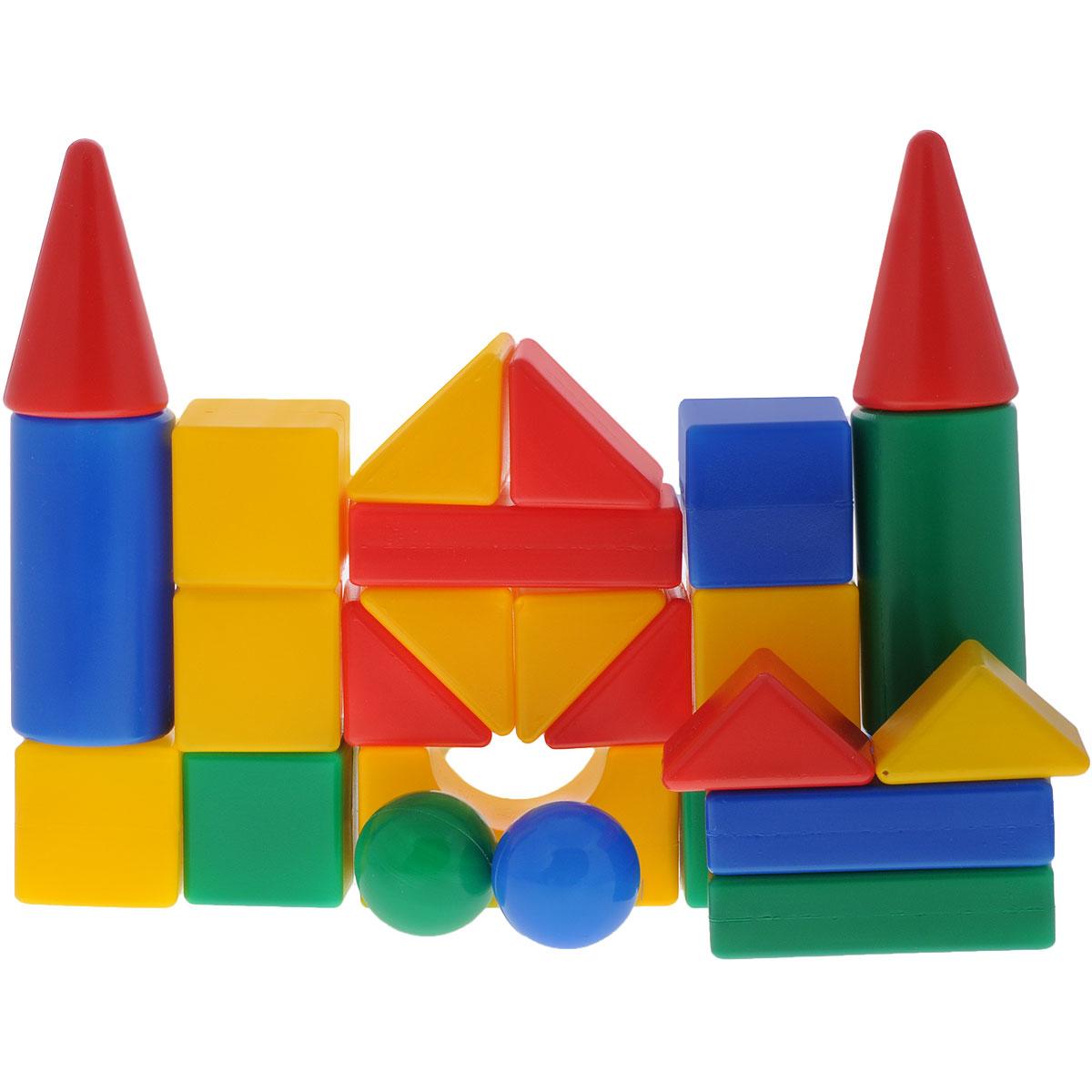 Конструктор Маша и Медведь Давай строить!, 26 элементовGT5613Яркий конструктор Давай строить! привлечет внимание вашего ребенка и не позволит ему скучать. Это яркие, вариативные по форме, текстуре, размерам детали, которые могут послужить материалом для создания целого городка, домика и всего, что ему подскажет фантазия. Элементы конструктора крупные, поэтому ребенку будет легко и удобно играть с ними. Игра с конструктором поможет ребенку научиться соотносить форму и величину предметов, развить мелкую моторику рук, логическое и пространственное мышление и творческие способности, а также поспособствует развитию концентрации внимания и усидчивости.