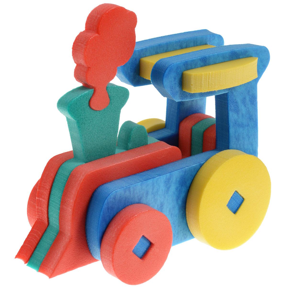 Флексика Мягкий конструктор Паровозик45362Мозаики и конструкторы настолько универсальны и практичны, что с ними можно играть практически везде. Для производства игрушек используется современный, легкий, эластичный, прочный материал, который обеспечивает большую долговечность игрушек, и главное –является абсолютно безопасным для детей. К тому же, благодаря особой структуре материала и свойству прилипать к мокрой поверхности, мягкие конструкторы и мозаики являются идеальной игрушкой для ванны. Способствует развитию у ребенка мелкой моторики, образного и логического мышления, наблюдательности. Производственная фирма `Тедико` зарекомендовала себя на рынке отечественных товаров как производитель высококачественных конструкторов и мозаик серии `Флексика`. Богатый ассортимент включает в себя игрушки для малышей и детей старшего возраста. УВАЖАЕМЫЕ КЛИЕНТЫ! Обращаем ваше внимание на возможные изменения в дизайне, связанные с ассортиментом продукции: цвет изделия или отдельных деталей...