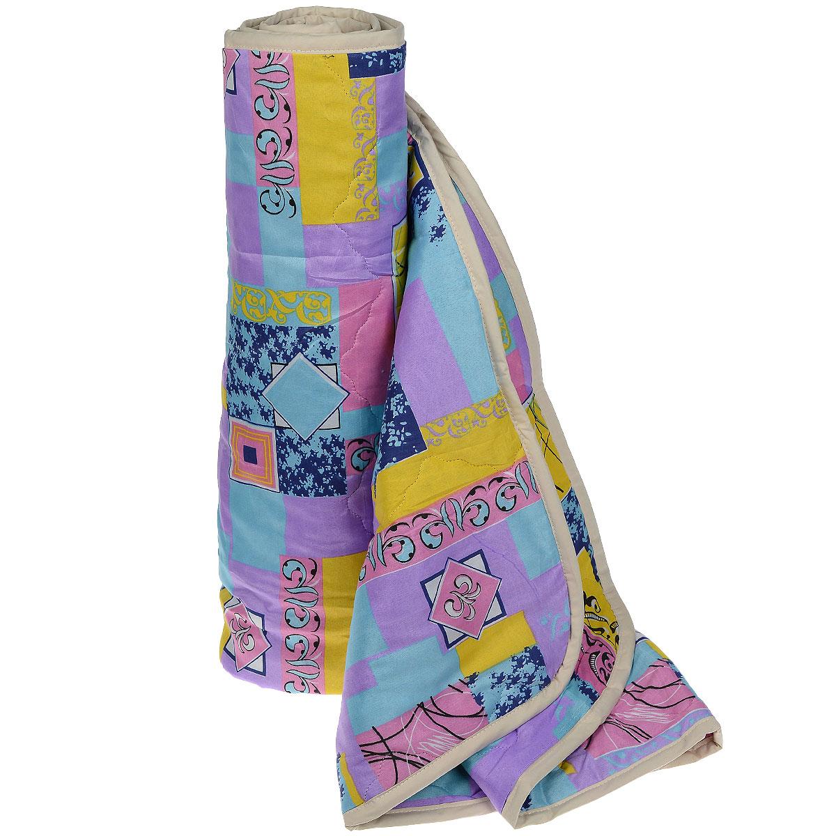 Одеяло всесезонное OL-Tex Miotex, наполнитель: полиэфирное волокно Holfiteks, цвет: сиреневый, розовый, желтый, 140 х 205 см МХПЭ-15-3МХПЭ-15-3_сиреневый, розовый, желтыйВсесезонное одеяло OL-Tex Miotex создаст комфорт и уют во время сна. Стеганый чехол выполнен из полиэстера и оформлен красочным рисунком. Внутри - современный наполнитель из полиэфирного высокосиликонизированного волокна Holfiteks, упругий и качественный. Холфитекс - современный экологически чистый синтетический материал, изготовленный по новейшим технологиям. Его уникальность заключается в расположении волокон, которые позволяют моментально восстанавливать форму и сохранять ее долгое время. Изделия с использованием Холфитекса очень удобны в эксплуатации - их можно часто стирать без потери потребительских свойств, они быстро высыхают, не впитывают запахов и совершенно гиппоаллергенны. Холфитекс также обеспечивает хорошую терморегуляцию, поэтому изделия с наполнителем из холфитекса очень комфортны в использовании. Одеяло с современным упругим наполнителем Холфитекс порадует вас в любое время года. Оно комфортно согревает и создает отличный микроклимат. За одеялом легко...
