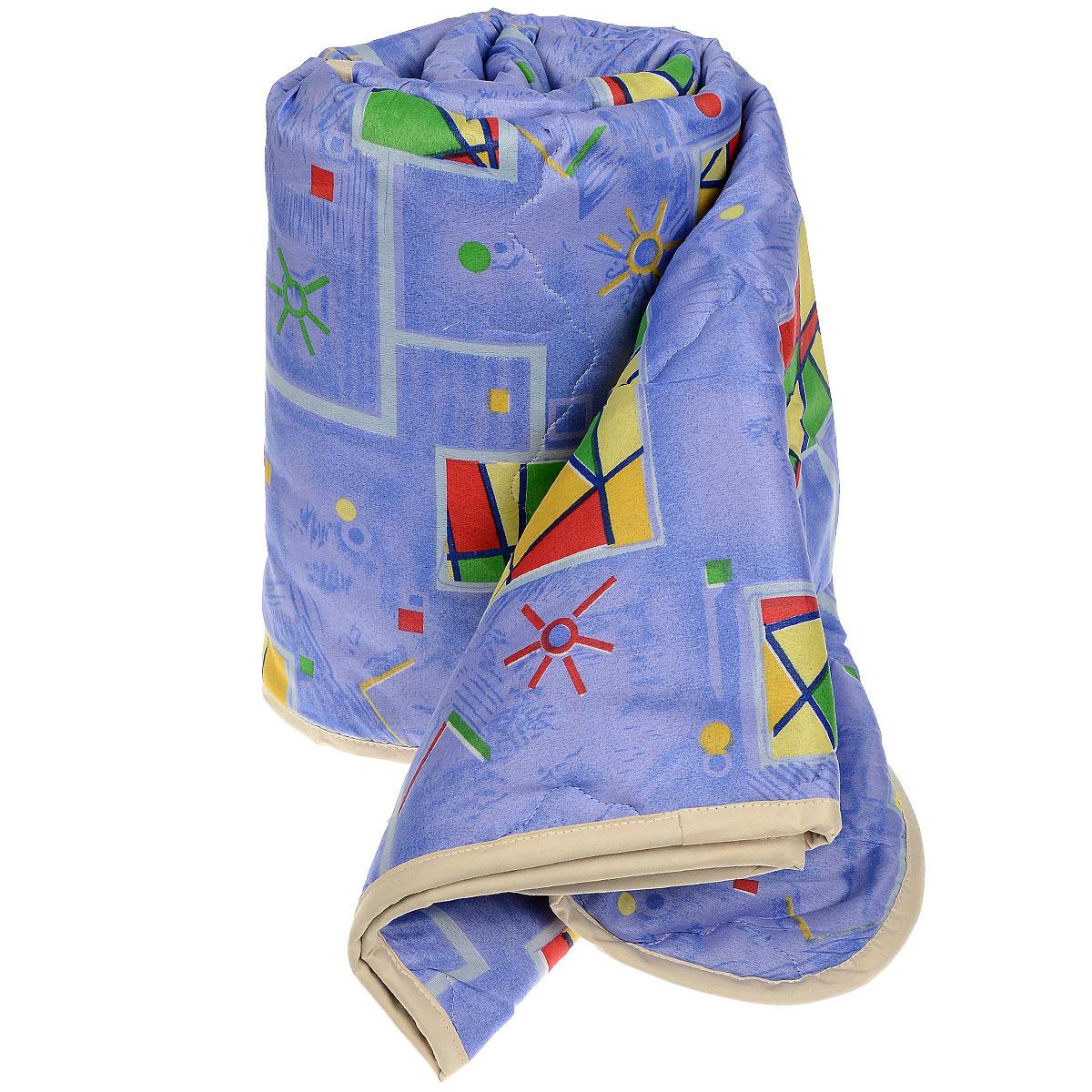 Одеяло всесезонное OL-Tex Геометрия, наполнитель: полиэфирное волокно Holfiteks, 140 см х 205 смМХПЭ-15-3_синий, геометрияВсесезонное одеяло OL-Tex Геометрия создаст комфорт и уют во время сна. Стеганый чехол выполнен из полиэстера и оформлен красочным рисунком. Внутри - современный наполнитель из полиэфирного высокосиликонизированного волокна Holfiteks, упругий и качественный. Холфитекс - современный экологически чистый синтетический материал, изготовленный по новейшим технологиям. Его уникальность заключается в расположении волокон, которые позволяют моментально восстанавливать форму и сохранять ее долгое время. Изделия с использованием Холфитекса очень удобны в эксплуатации - их можно часто стирать без потери потребительских свойств, они быстро высыхают, не впитывают запахов и совершенно гиппоаллергенны. Холфитекс также обеспечивает хорошую терморегуляцию, поэтому изделия с наполнителем из холфитекса очень комфортны в использовании. Одеяло с современным упругим наполнителем Холфитекс порадует вас в любое время года. Оно комфортно согревает и создает отличный микроклимат....