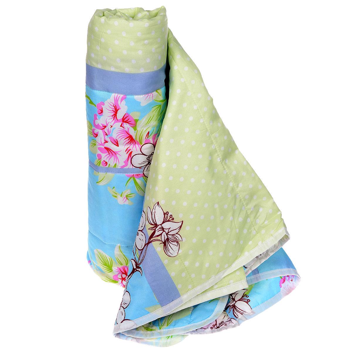 Одеяло летнее OL-Tex Miotex, наполнитель: полиэфирное волокно Holfiteks, 140 х 205 смМХПЭ-15-1Летнее одеяло OL-Tex Miotex создаст комфорт и уют во время сна. Стеганый чехол выполнен из полиэстера и оформлен красочным рисунком. Внутри - наполнитель из полиэфирного высокосиликонизированного волокна Holfiteks, упругий и качественный. Холфитекс - современный экологически чистый синтетический материал, изготовленный по новейшим технологиям. Его уникальность заключается в расположении волокон, которые позволяют моментально восстанавливать форму и сохранять ее долгое время. Изделия с использованием Холфитекса очень удобны в эксплуатации - их можно часто стирать без потери потребительских свойств, они быстро высыхают, не впитывают запахов и совершенно гиппоаллергенны. Холфитекс также обеспечивает хорошую терморегуляцию, поэтому изделия с наполнителем из холфитекса очень комфортны в использовании. Летнее одеяло с наполнителем Холфитекс прекрасно держит тепло, при этом оно очень легкое и уютное. Оно комфортно согревает и создает отличный микроклимат, под ним не будет жарко...
