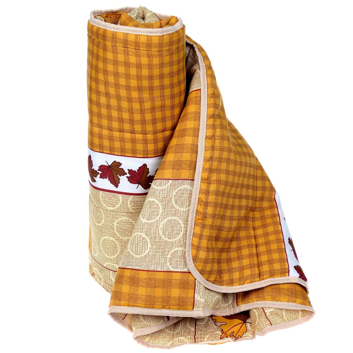 Одеяло летнее OL-Tex Miotex, наполнитель: полиэфирное волокно Holfiteks, 140 см х 205 смМХПЭ-15-1 _коричневый с листьямиЛетнее одеяло OL-Tex Miotex создаст комфорт и уют во время сна. Стеганый чехол выполнен из полиэстера и оформлен красочным рисунком. Внутри - наполнитель из полиэфирного высокосиликонизированного волокна Holfiteks, упругий и качественный. Холфитекс - современный экологически чистый синтетический материал, изготовленный по новейшим технологиям. Его уникальность заключается в расположении волокон, которые позволяют моментально восстанавливать форму и сохранять ее долгое время. Изделия с использованием Холфитекса очень удобны в эксплуатации - их можно часто стирать без потери потребительских свойств, они быстро высыхают, не впитывают запахов и совершенно гиппоаллергенны. Холфитекс также обеспечивает хорошую терморегуляцию, поэтому изделия с наполнителем из холфитекса очень комфортны в использовании. Летнее одеяло с наполнителем Холфитекс прекрасно держит тепло, при этом оно очень легкое и уютное. Оно комфортно согревает и создает отличный микроклимат, под...