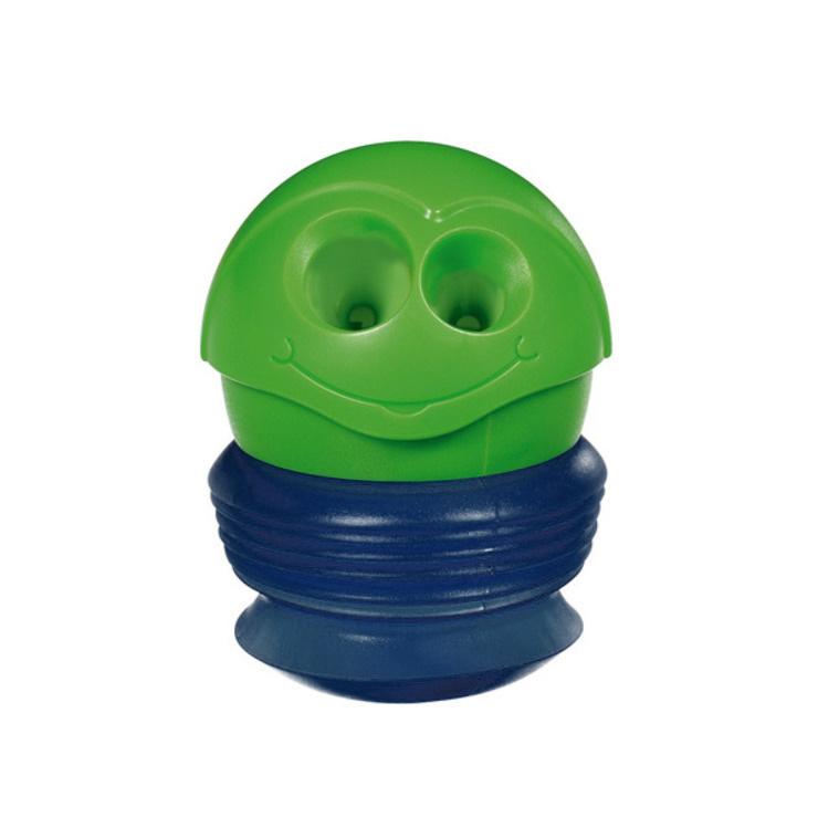 Maped Точилка Сroc-Croc, зеленый, синий17002_ зеленый/синийТочилка Maped Сroc-Croc станет незаменимым аксессуаром на рабочем столе не только школьника или студента, но и офисного работника. Забавная точилка Сroc-Croc с гибким контейнером и 2 отверстиями для карандашей различных диаметров. В формате мини идеальна для хранения в пенале, а в макси - для заточки карандашей. Не рекомендуется детям до 3-х лет.