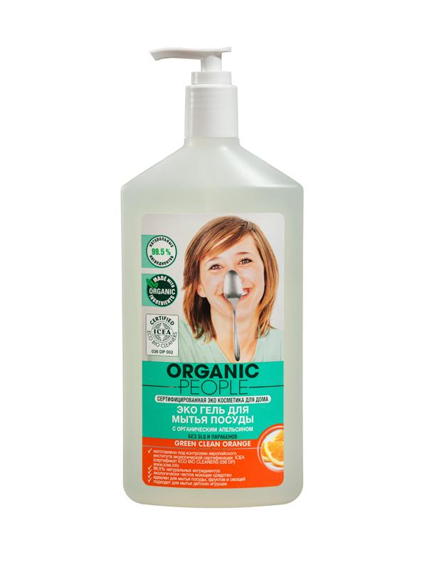 OP Эко-гель для мытья посуды апельсин 500 мл071-4-1578OP Эко-гель для мытья посуды апельсин 500 мл