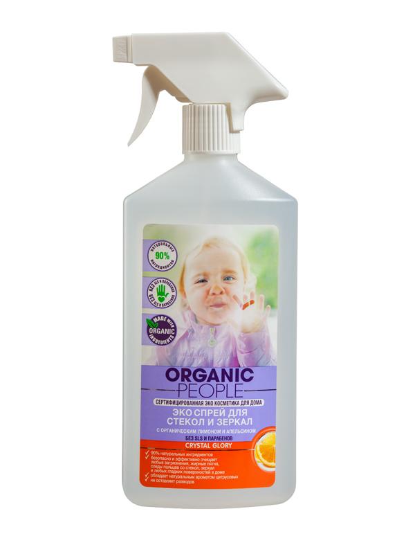 Organic People OP спрей Эко для стекол и зеркал 500 мл 071-4-1615