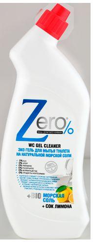 ZERO гель для мытья туалета морская соль 750 мл071-41-4498ZERO гель для мытья туалета морская соль 750 мл