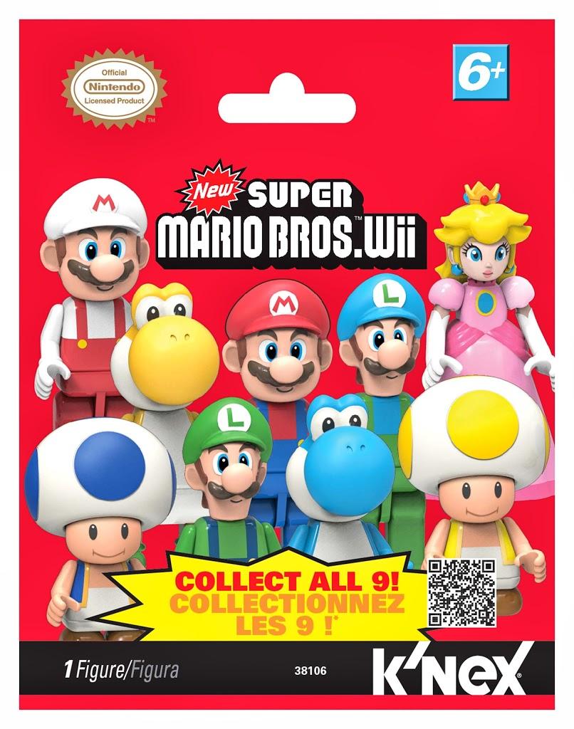 Super Mario Bros. Wii: Минифигурки. 3810638106Super Mario Bros. Wii: Минифигурки это коллекция минифигурок с героями знаменитой игры. Фигурка запечатана в непрозрачный пакетик, поэтому неизвестно, какая минифигурка из серии попадется вам. Узнайте, какая таинственная мини-фигурка в вашей упаковке!