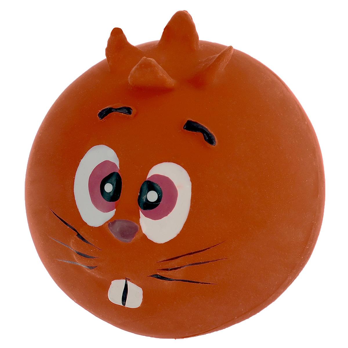 Игрушка для собак I.P.T.S. Мяч с мордочкой, цвет: оранжевый, диаметр 7 см16291 оранжевыйИгрушка для собак I.P.T.S. Мяч с мордочкой, изготовленная из высококачественного латекса, выполнена в виде мячика с милой мордочкой. Такая игрушка порадует вашего любимца, а вам доставит массу приятных эмоций, ведь наблюдать за игрой всегда интересно и приятно. Оставшись в одиночестве, ваша собака будет увлеченно играть. Диаметр: 7 см.