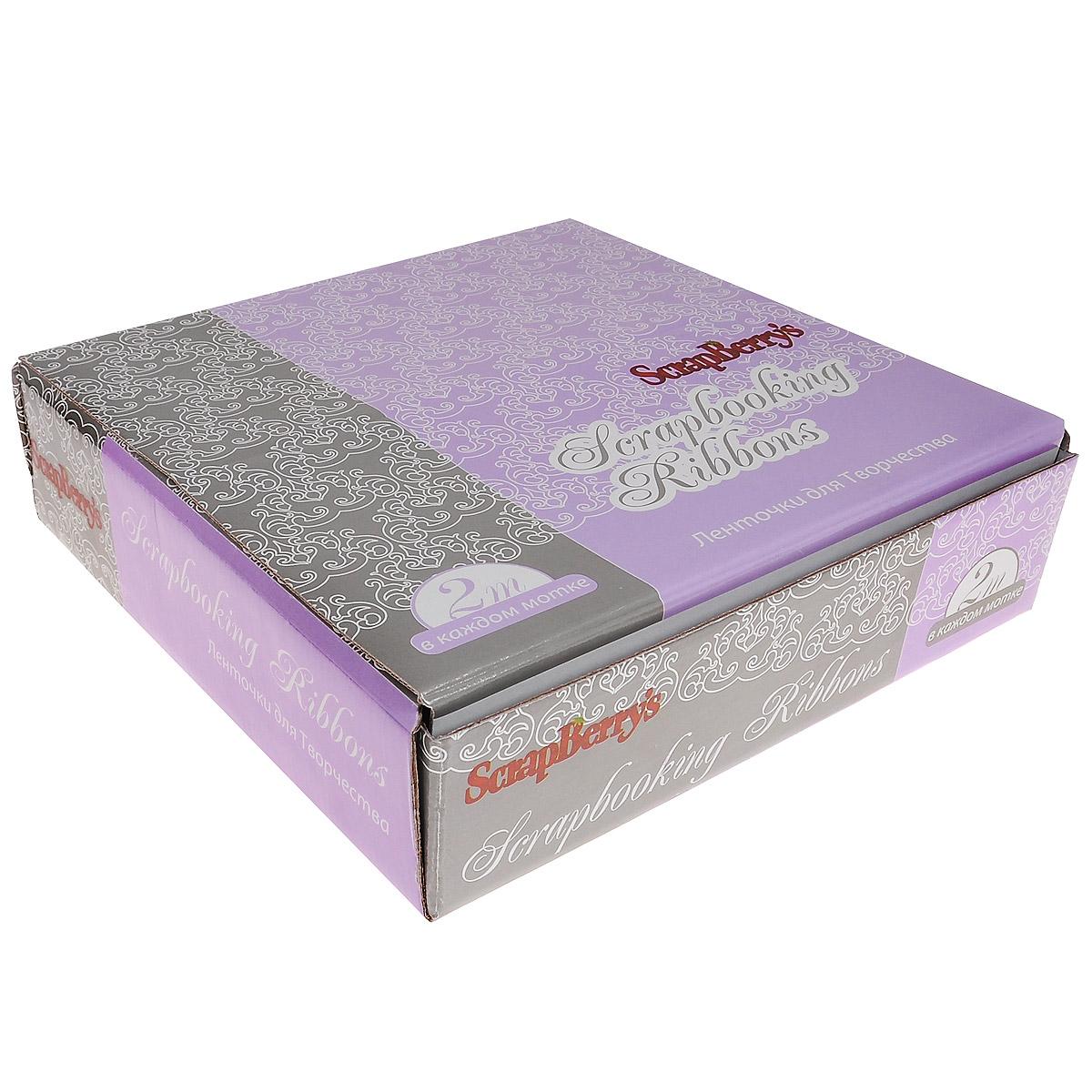 Коробка ScrapBerrys для ленточек для творчества, 26 х 26 х 7 смSCB11001000Коробка ScrapBerrys выполнена из плотного картона. Предназначена для хранения ленточек для творчества и других материалов для рукоделия. Коробка складная, легко собирается.