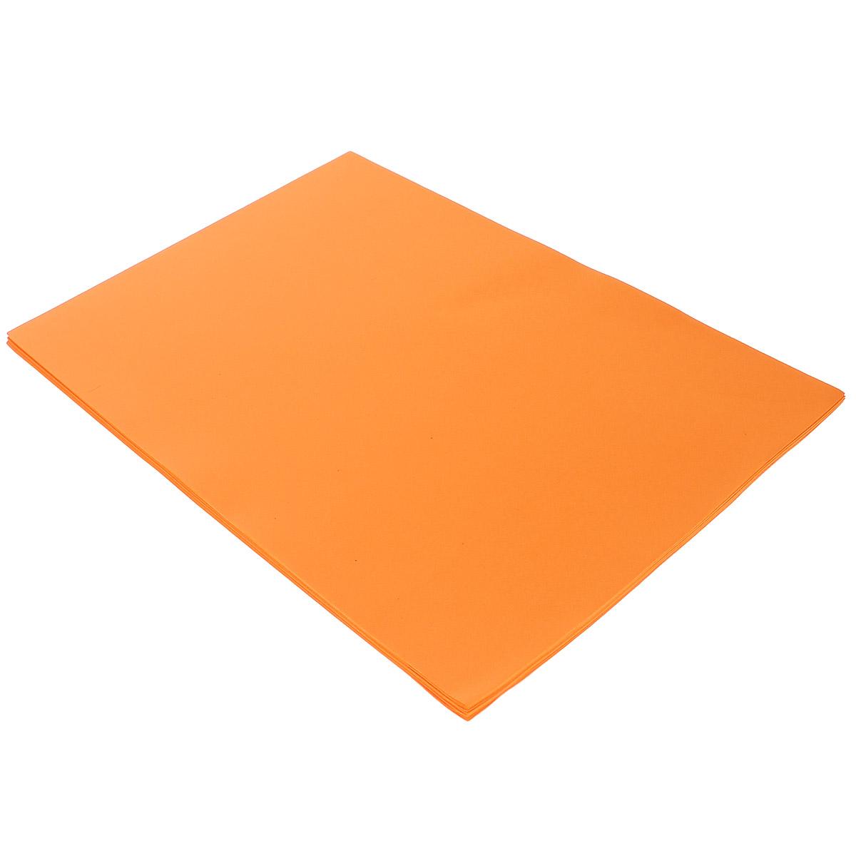 Фоамиран ScrapBerrys, цвет: оранжевый, А4, 10 штSCB480104Фоамиран ScrapBerrys изготовлен из полимерного вспененного материала, легкого и приятного на ощупь. Листы фоамирана используются для создания различного объемного декора: цветы, элементы подарочной упаковки, открытки и различные элементы для скрапбукинга. Листы легко режутся ножницами и вырубаются фигурными компостерами. С помощью тепла рук или нагревательного прибора, вы сможете придать этому материалу любую форму, добавить фактуру.