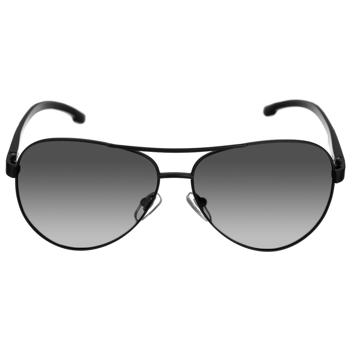 Очки поляризационные Cafa France, цвет: серый. CF8511CF8511Очки поляризационные Cafa France предназначены для защиты органов зрения от ультрафиолета, а также блокировки бликов. Оправа изготовлена из гибкого пластика, который не бьется и не подвергается остаточным деформациям. Оправа разработана для комфортного и безопасного вождения - легкая, надежная, не закрывающая обзор в зоне периферийного зрения. Прорезиненные элементы на дужках и надежные узлы крепления предотвращают соскальзывание. Категория затемнения линз - Cat.3. Практичный аксессуар не только защитит ваши глаза, но и ярко подчеркнет ваш стиль.