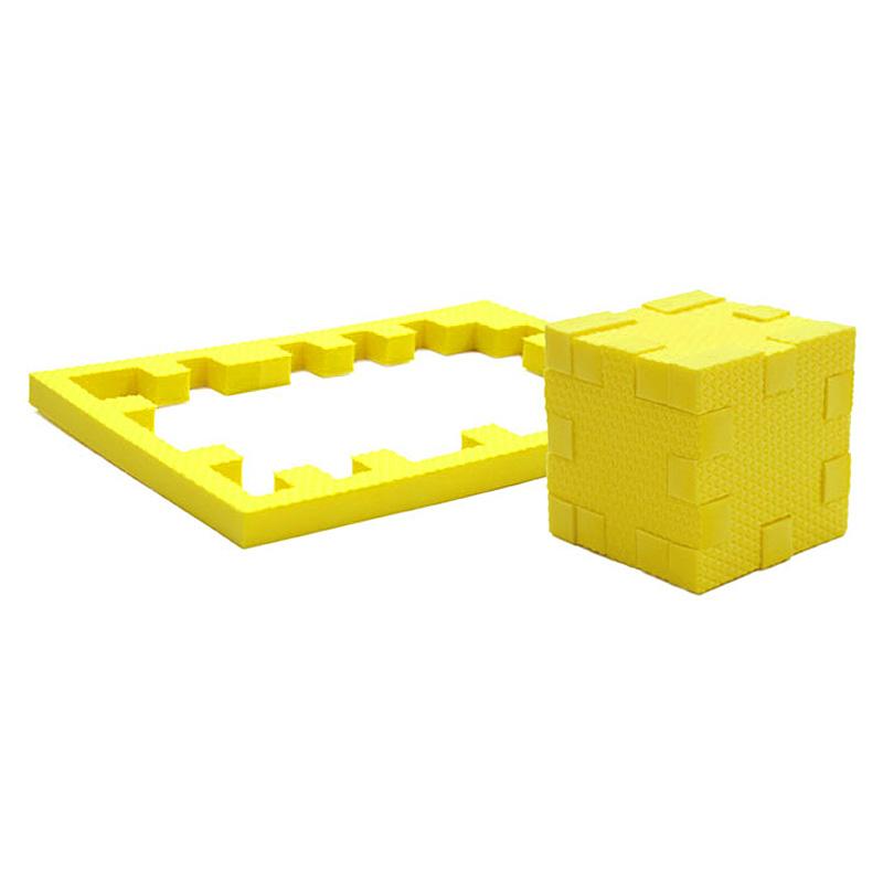 PicnMix Пазл-конструктор Кубикформ Цитрин111001Пазл-конструктор Pic&Mix Кубикформ Цитрин стимулирует развитие мышления, логики, пространственного воображения, памяти, координации, мелкой моторики, а также помогает усвоить навыки тактильного восприятия. Пазл-конструктор подходит для использования как в комнате, так и для игр в воде.