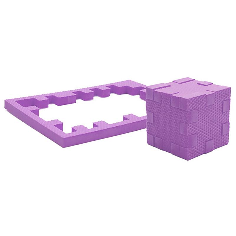 PicnMix Пазл-конструктор Кубикформ Аметист111003Пазл-конструктор Pic&Mix Кубикформ Аметист стимулирует развитие мышления, логики, пространственного воображения, памяти, координации, мелкой моторики, а также помогает усвоить навыки тактильного восприятия. Пазл-конструктор подходит для использования как в комнате, так и для игр в воде.