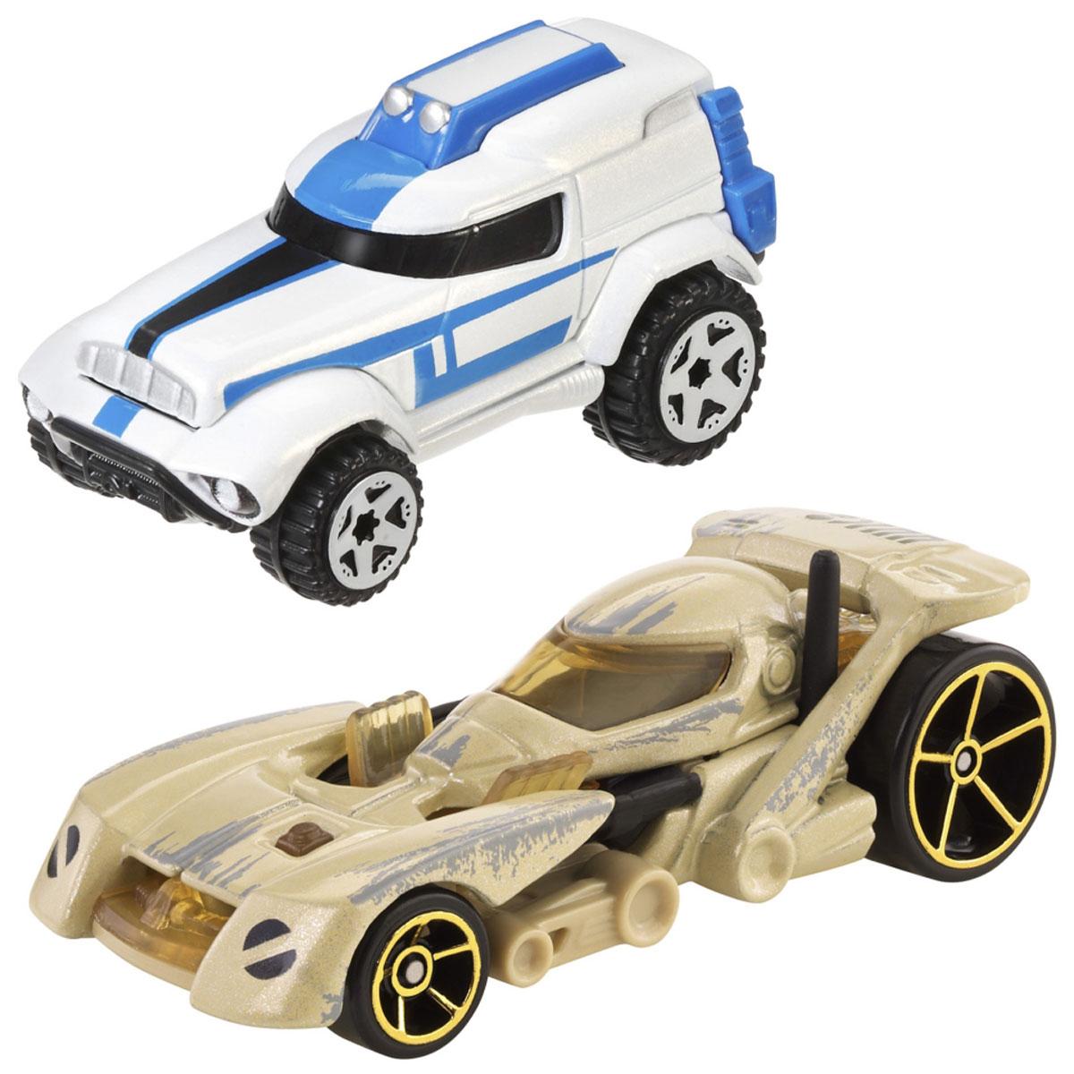 Hot Wheels Star Wars Набор машинок Clone Trooper и Battle DroidCGX02_CGX07_CGX07Машинки Hot Wheels Clone trooper, Battle Droid - любимые миллионами персонажи Звездных войн солдат Clone trooper и робот Battle Droid. Каждый из этих персонажей, выполненных в масштабе 1:64, узнаваем не смотря на то, что их внешний вид в фильмах нисколько не походил на машины. Машинки понравятся поклонникам всех возрастов. Собери полную коллекцию и устраивай гонки по всей галактике!