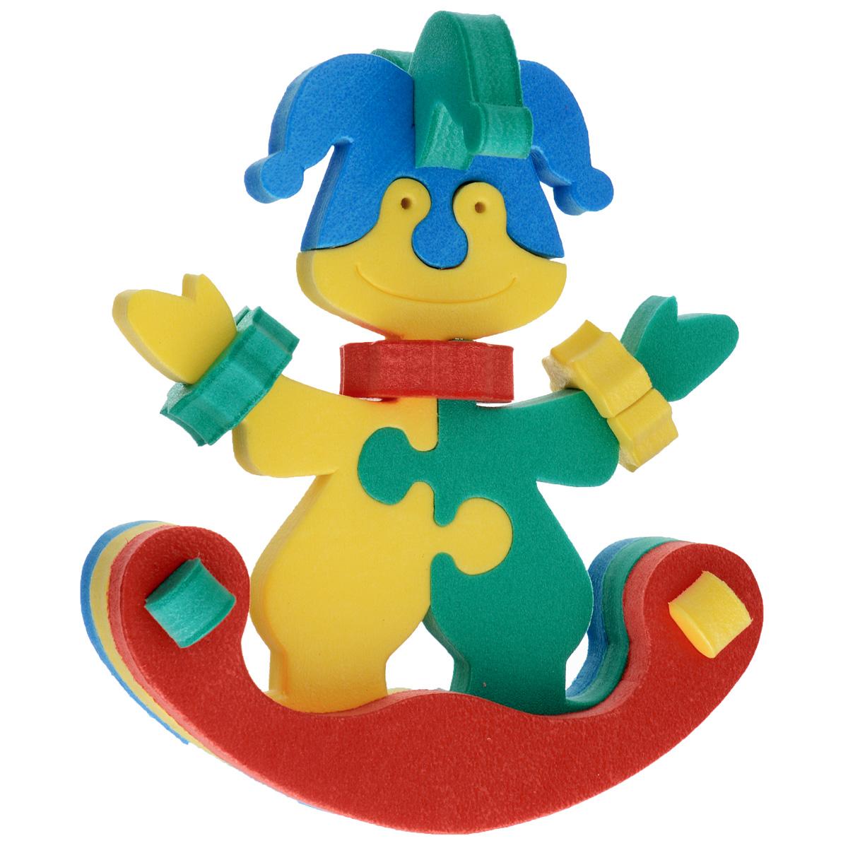 Флексика Мягкий конструктор Клоун-качалка45369Мозаики и конструкторы настолько универсальны и практичны, что с ними можно играть практически везде. Для производства игрушек используется современный, легкий, эластичный, прочный материал, который обеспечивает большую долговечность игрушек, и главное –является абсолютно безопасным для детей. К тому же, благодаря особой структуре материала и свойству прилипать к мокрой поверхности, мягкие конструкторы и мозаики являются идеальной игрушкой для ванны. Способствует развитию у ребенка мелкой моторики, образного и логического мышления, наблюдательности. Производственная фирма `Тедико` зарекомендовала себя на рынке отечественных товаров как производитель высококачественных конструкторов и мозаик серии `Флексика`. Богатый ассортимент включает в себя игрушки для малышей и детей старшего возраста.