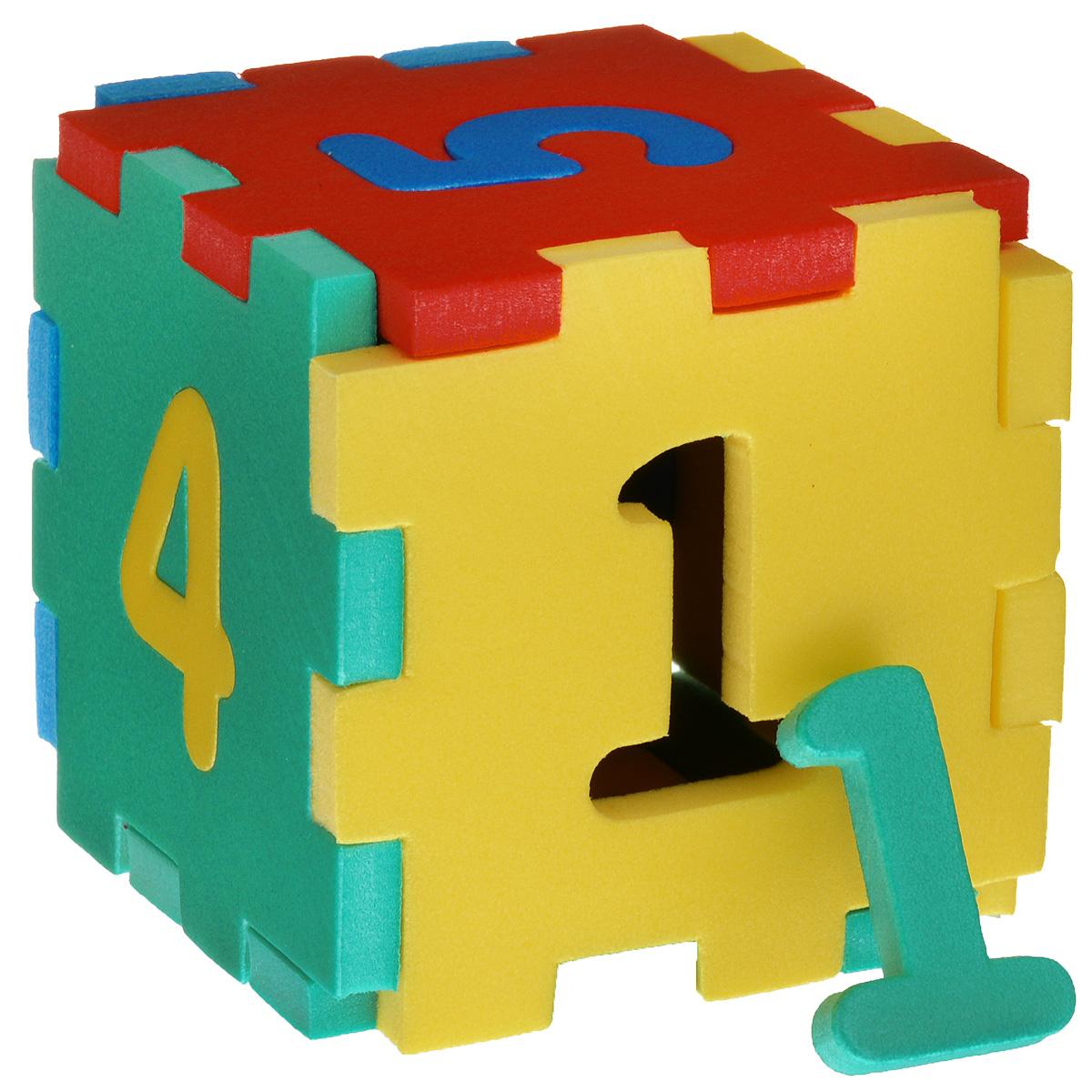 Флексика Мягкий конструктор Кубик с цифрами45402Мозаики и конструкторы настолько универсальны и практичны, что с ними можно играть практически везде. Для производства игрушек используется современный, легкий, эластичный, прочный материал, который обеспечивает большую долговечность игрушек, и главное –является абсолютно безопасным для детей. К тому же, благодаря особой структуре материала и свойству прилипать к мокрой поверхности, мягкие конструкторы и мозаики являются идеальной игрушкой для ванны. Способствует развитию у ребенка мелкой моторики, образного и логического мышления, наблюдательности. Производственная фирма `Тедико` зарекомендовала себя на рынке отечественных товаров как производитель высококачественных конструкторов и мозаик серии `Флексика`. Богатый ассортимент включает в себя игрушки для малышей и детей старшего возраста.