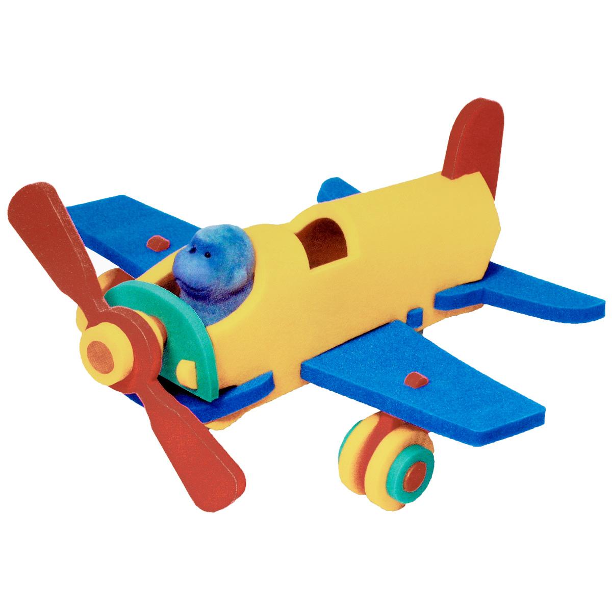 Флексика Мягкий конструктор Истребитель45488Игрушки серии Мягкие конструкторы выполнены из мягкого, прочного, нетоксичного, абсолютно безопасного материала. Мягкие конструкторы развивают у ребенка память, воображение, моторику, пространственное и логическое мышление. Обучение происходит во время игры. Благодаря особой структуре материала и свойству прилипать к мокрой поверхности, они являются идеальной игрушкой для ванны. Такие простые малышевые конструкторы не менее полезны чем взрослые. Они дают здоровую и интересную пищу для ума, и при этом безопасны в еще неумелых детских ручках.