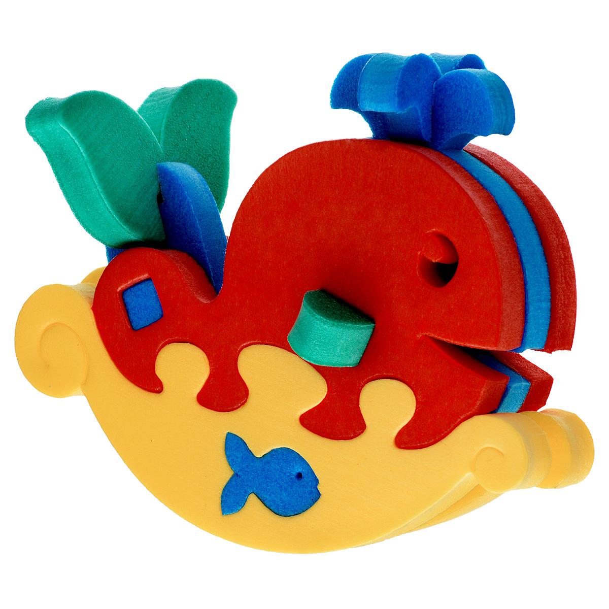 Флексика Мягкий конструктор Кит-качалка45481Игрушки серии Мягкие конструкторы выполнены из мягкого, прочного, нетоксичного, абсолютно безопасного материала. Мягкие конструкторы развивают у ребенка память, воображение, моторику, пространственное и логическое мышление. Обучение происходит во время игры. Благодаря особой структуре материала и свойству прилипать к мокрой поверхности, они являются идеальной игрушкой для ванны. Такие простые малышевые конструкторы не менее полезны чем взрослые. Они дают здоровую и интересную пищу для ума, и при этом безопасны в еще неумелых детских ручках. Производственная фирма Тедико зарекомендовала себя на рынке отечественных товаров как производитель высококачественных конструкторов и мозаик серии Флексика. Богатый ассортимент включает в себя игрушки для малышей и детей старшего возраста. УВАЖАЕМЫЕ КЛИЕНТЫ! Обращаем ваше внимание на возможные изменения в дизайне, связанные с ассортиментом продукции: цвет изделия или отдельных...