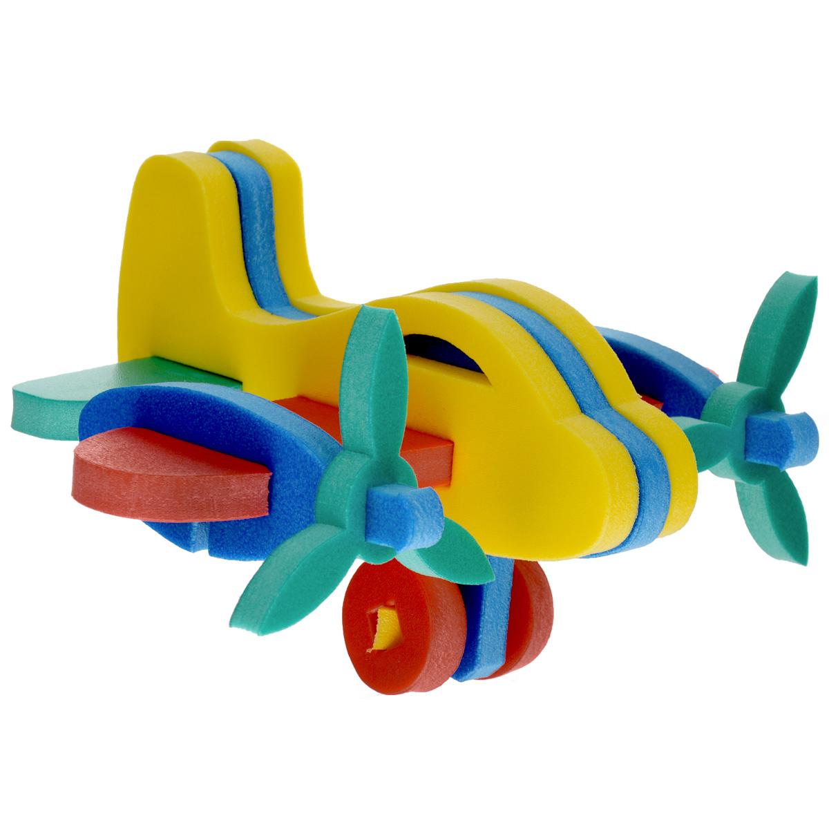 Флексика Мягкий конструктор Самолетик45365Мозаики и конструкторы настолько универсальны и практичны, что с ними можно играть практически везде. Для производства игрушек используется современный, легкий, эластичный, прочный материал, который обеспечивает большую долговечность игрушек, и главное –является абсолютно безопасным для детей. К тому же, благодаря особой структуре материала и свойству прилипать к мокрой поверхности, мягкие конструкторы и мозаики являются идеальной игрушкой для ванны. Способствует развитию у ребенка мелкой моторики, образного и логического мышления, наблюдательности. Производственная фирма `Тедико` зарекомендовала себя на рынке отечественных товаров как производитель высококачественных конструкторов и мозаик серии `Флексика`. Богатый ассортимент включает в себя игрушки для малышей и детей старшего возраста. УВАЖАЕМЫЕ КЛИЕНТЫ! Обращаем ваше внимание на возможные изменения в дизайне, связанные с ассортиментом продукции: цвет изделия или отдельных деталей...