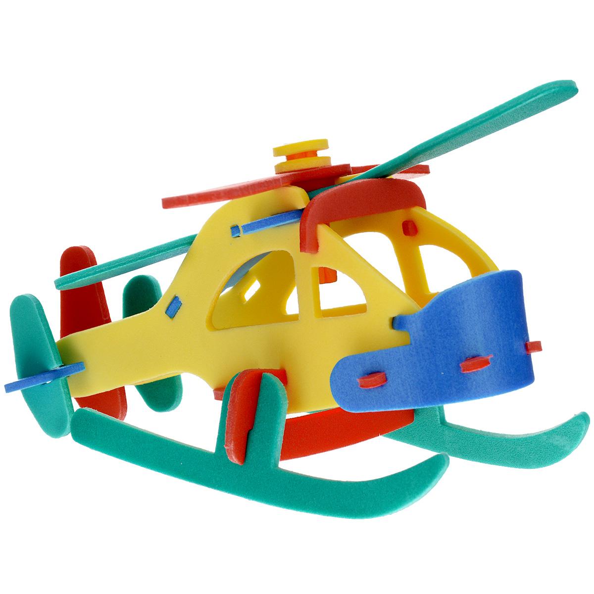 Флексика Мягкий конструктор Пассажирский вертолет45484Игрушки серии Мягкие конструкторы выполнены из мягкого, прочного, нетоксичного, абсолютно безопасного материала. Мягкие конструкторы развивают у ребенка память, воображение, моторику, пространственное и логическое мышление. Обучение происходит во время игры. Благодаря особой структуре материала и свойству прилипать к мокрой поверхности, они являются идеальной игрушкой для ванны. Такие простые малышевые конструкторы не менее полезны чем взрослые. Они дают здоровую и интересную пищу для ума, и при этом безопасны в еще неумелых детских ручках.