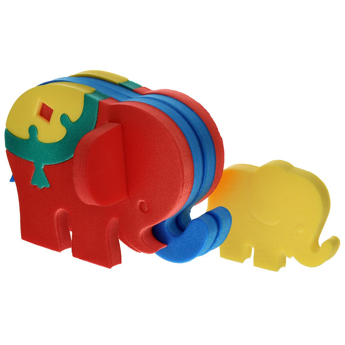 Флексика Мягкий конструктор Слоник45364Мозаики и конструкторы настолько универсальны и практичны, что с ними можно играть практически везде. Для производства игрушек используется современный, легкий, эластичный, прочный материал, который обеспечивает большую долговечность игрушек, и главное –является абсолютно безопасным для детей. К тому же, благодаря особой структуре материала и свойству прилипать к мокрой поверхности, мягкие конструкторы и мозаики являются идеальной игрушкой для ванны. Способствует развитию у ребенка мелкой моторики, образного и логического мышления, наблюдательности. Производственная фирма `Тедико` зарекомендовала себя на рынке отечественных товаров как производитель высококачественных конструкторов и мозаик серии `Флексика`. Богатый ассортимент включает в себя игрушки для малышей и детей старшего возраста.