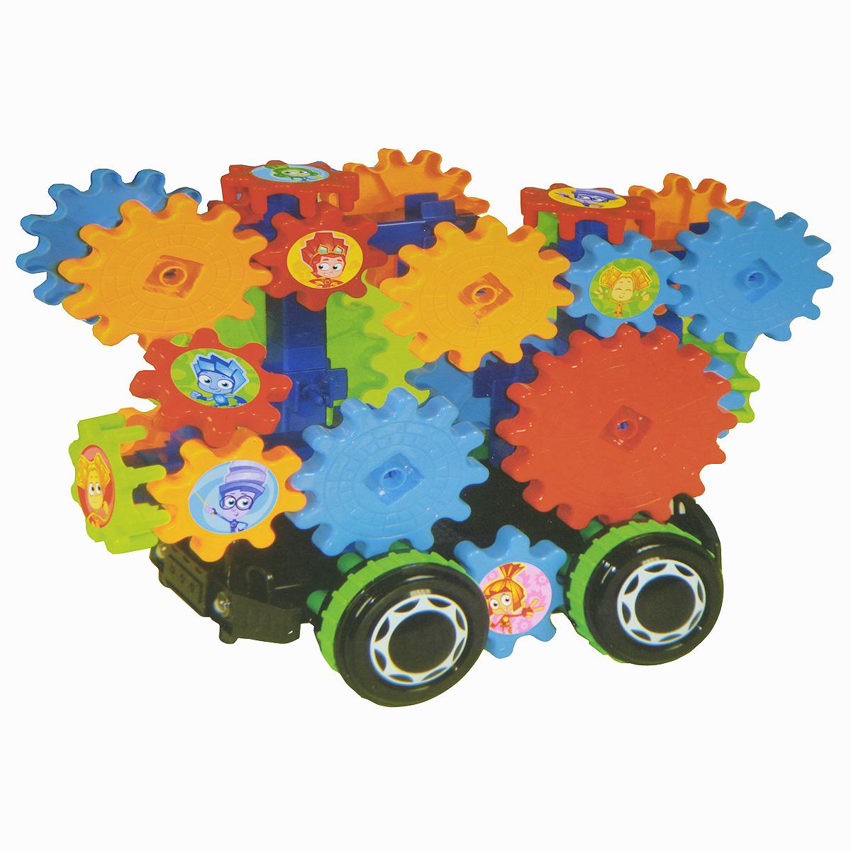 Фиксики Конструктор Автомобиль будущегоFIX0711-024А вы знакомы с Фиксиками? Это маленькие человечки, которые живут в любых приборах и машинах, созданных людьми. Конструктор Фиксики Автомобиль будущего- это необычный конструктор на радиоуправлении! Собери игрушку, а потом управляй ей, как настоящей машинкой. Шестерёнки у игрушки двигаются. Для работы конструктора необходимо докупить 4 батарейки АА (не входят в комплект). Для работы пульта управления необходимо докупить 2 батарейки АА (не входят в комплект).
