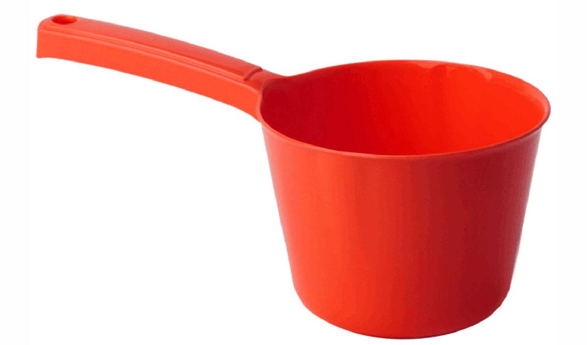Ковш Idea, цвет: красный, 1 лМ 1215Ковш Idea изготовлен из высококачественного цветного пластика. Изделие используется для моечных и обливных процедур, для черпания и переливания воды и других жидкостей. Ковш оснащен удобной эргономичной ручкой с петелькой для подвешивания на крючок. Диаметр ковша (по верхнему краю): 13,5 см. Высота стенки ковша: 10 см. Длина ручки: 12 см.