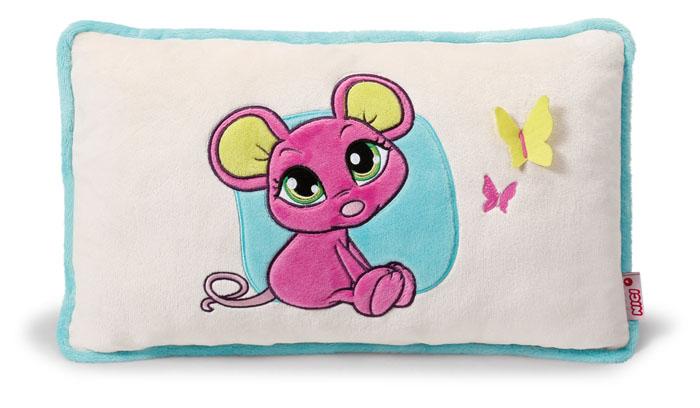 Подушка Мышка розовая, 43*25 см37778
