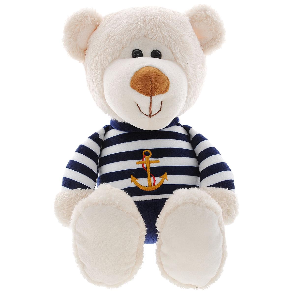 Мягкая игрушка Plush Apple Медведь моряк, 38 смK34124СМягкая игрушка Plush Apple Медведь моряк станет лучшим другом для любого ребенка. Игрушка изготовлена из высококачественных текстильных материалов. Выполнена игрушка в виде очаровательного медвежонка, одетого в костюм морского стиля с изображением якоря. Глазки медведя из пластика. Такая игрушка вызывает умиление не только у детей, но и у взрослых. Поэтому она станет отличным подарком не только ребенку, но и друзьям.