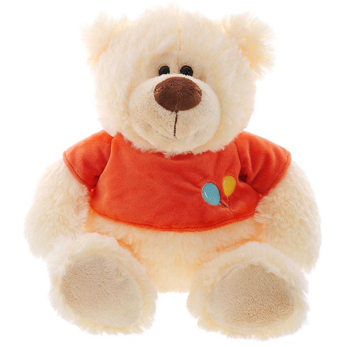 Мягкая игрушка Plush Apple Медведь в футболке, 39 смK13038A1Мягкая игрушка Plush Apple Медведь в футболке станет лучшим другом для любого ребенка. Игрушка изготовлена из безопасных, приятных на ощупь текстильных материалов в виде медвежонка, одетого в футболку. Глазки выполнены из пластика. Удивительно мягкая игрушка принесет радость и подарит своему обладателю мгновения нежных объятий и приятных воспоминаний.