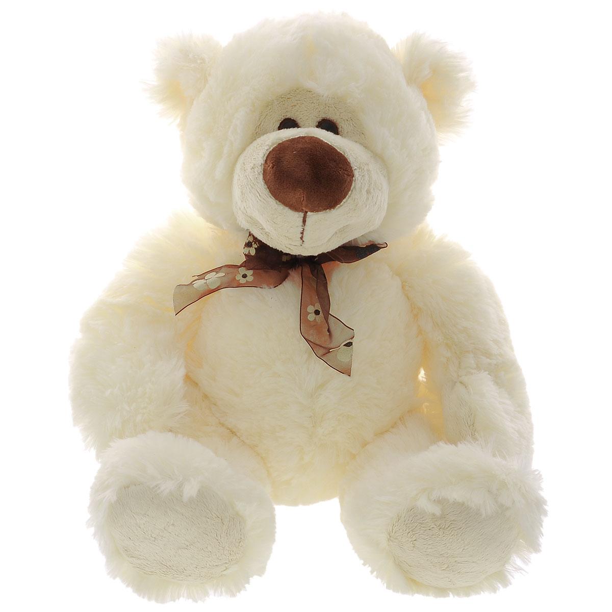 Мягкая игрушка Plush Apple Медведь Богдан, 47 смK13038BМилая мягкая игрушка Plush Apple Медведь Богдан привлечет внимание любого ребенка. Изделие изготовлено из приятных на ощупь и очень мягких материалов. Игрушка выполнена в виде забавного медвежонка с бантиком на шее. Глазки изготовлены из пластика. Симпатичная игрушка неизменно будет радовать вашего ребенка, а также способствовать полноценному и гармоничному развитию его личности.