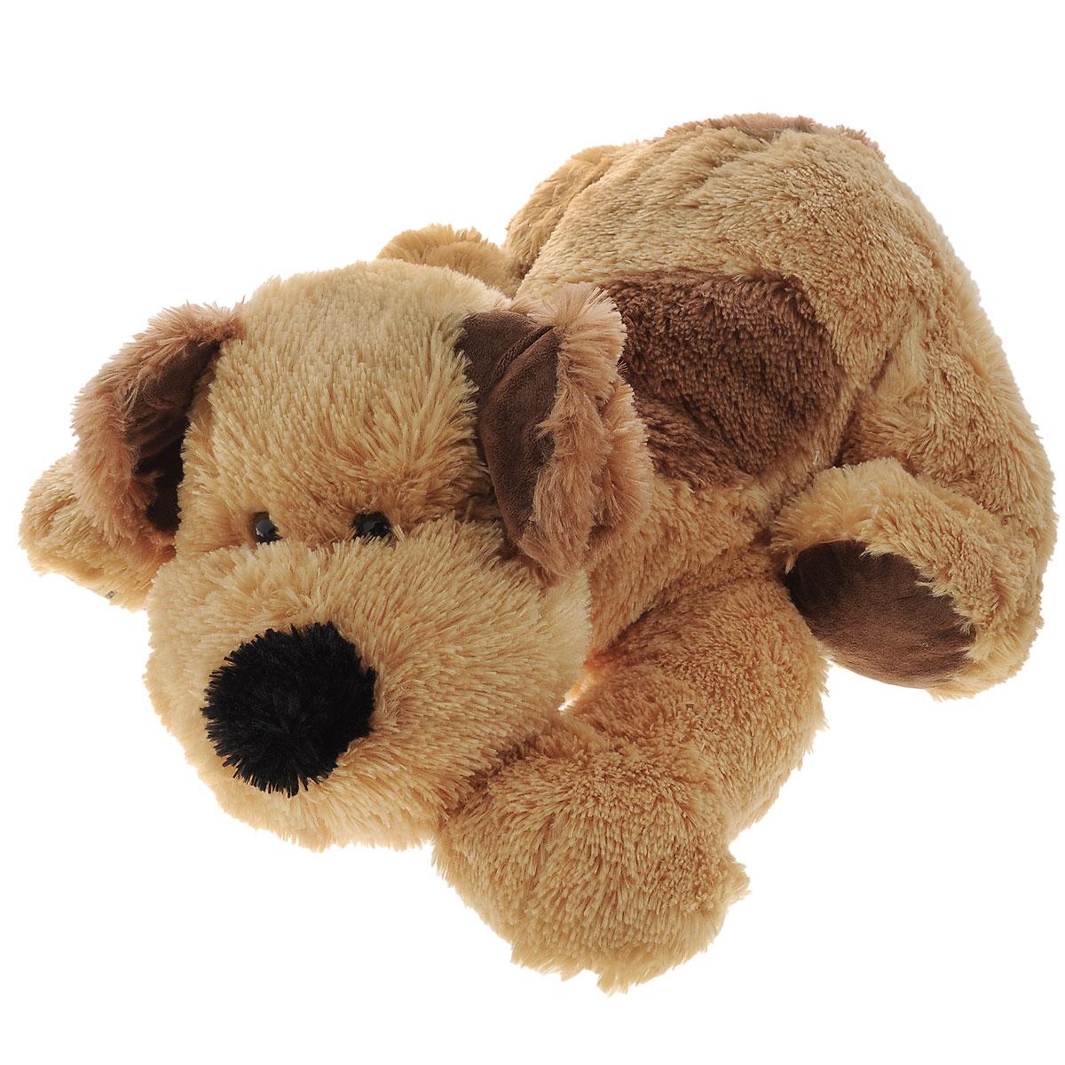 Plush Apple Мягкая игрушка Собака Барбос, 66 смKF31254B,K09252AМягкая игрушка Plush Apple Собака Барбос отлично подойдет в качестве подарка для ребенка или взрослого. Большая плюшевая собачка произведена из безопасных и высококачественных материалов. У нее пушистая приятная шерстка с темно-коричневым пятнышком на спинке, карие глаза-бусинки и большие лапы. Удивительно мягкая игрушка принесет радость своему обладателю, а также подарит много сладких снов и хорошее настроение.