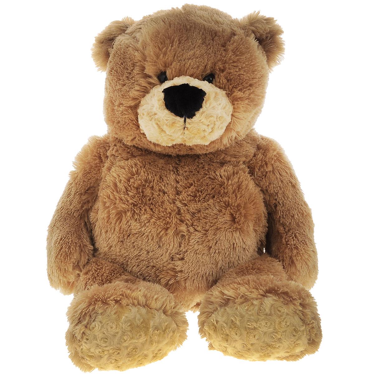 Plush Apple Мягкая игрушка Медведь, 80 смK60321B1Мягкая игрушка Plush Apple Медведь отлично подойдет в качестве подарка для ребенка или взрослого. Большой плюшевый Мишка произведен из безопасных и высококачественных материалов. С ним можно спать или играть в сюжетно-ролевые игры. Мишка подарит много сладких снов и хорошего настроения вам и вашему малышу. Пусть дорогой вам человек станет счастливым обладателем этого симпатичного медвежонка.