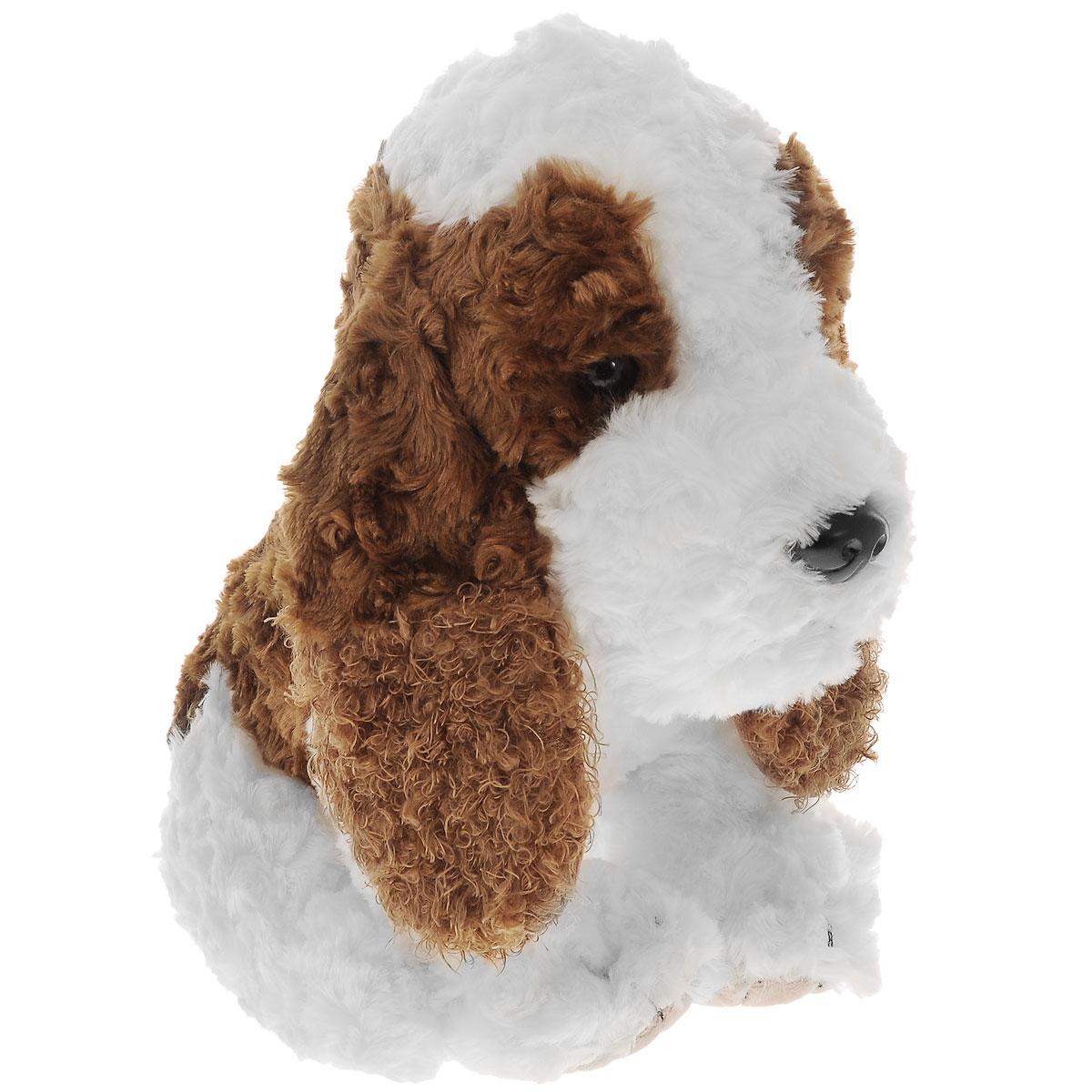 Plush Apple Мягкая игрушка Собака, 22 смK61557HМягкая игрушка Plush Apple Собака выполнена из качественных материалов, абсолютно безвредных для ребенка. Игрушка в виде милой собачки станет верным другом для малыша. У нее пушистая шерстка, глаза и нос из пластика, а на шее красивый ошейник красного цвета. Авторский дизайн и отличное качество исполнения делают игрушку чудесным подарком к любому празднику. Мягкая игрушка способствует развитию воображения и тактильной чувствительности у детей.