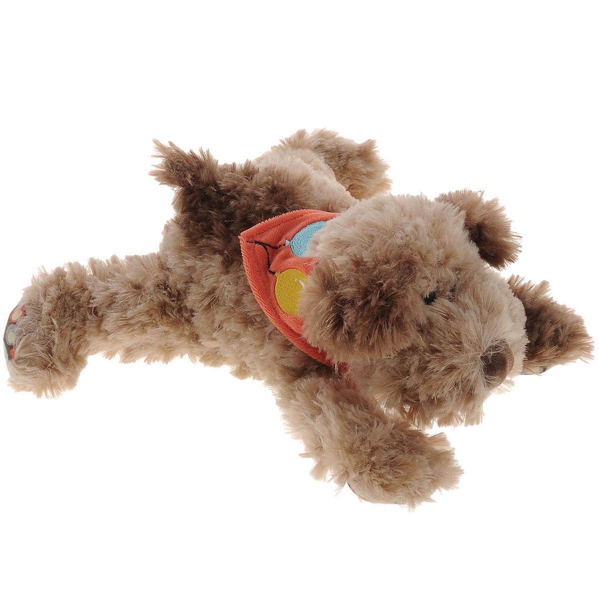 Plush Apple Мягкая игрушка Собака Кучеряшка, 27 см. K31287DK31287DМягкая игрушка Plush Apple Собака Кучеряшка станет верным другом вашему ребенку. Игрушка произведена из безопасных и качественных материалов. Собачка по имени Кучеряшка украшена стильным платком, подвязанным на шее. У нее пушистая приятная шерстка, черные глаза-бусинки, а подушечки на лапках дополнены специальными вставками из яркого текстиля с рисунком. Озорная и забавная собачка Кучеряшка непременно понравится малышу, а также подарит много сладких снов и хорошее настроение.
