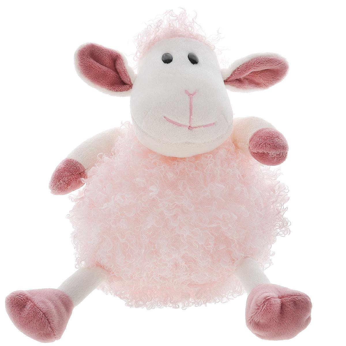 Plush Apple Мягкая игрушка Овечка Милашка, 18 смK31294AМягкая игрушка Овечка Милашка от Plush Apple, выполненная в виде забавной овечки розового цвета, очарует вашу малышку и доставит ей радость. Игрушка изготовлена из безопасных текстильных материалов, в качестве наполнителя использованы синтетические волокна с добавлением специальных пластиковых гранул. Овечка по имени Милашка станет оригинальным подарком для каждой девочки. Мягкая игрушка способствует развитию воображения и тактильной чувствительности у детей.