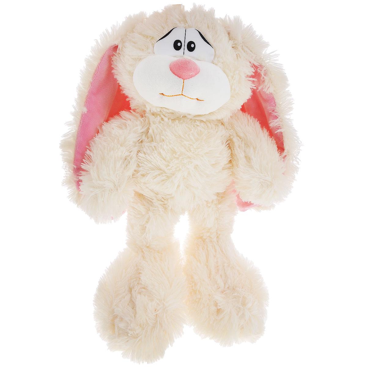 Мягкая игрушка Plush Apple Кролик Лаврик, 36 смKF37039CМилая мягкая игрушка Plush Apple Кролик Лаврик непременно вызовет улыбку у детей и взрослых. Изделие изготовлено из высококачественного и безопасного материала. Игрушка выполнена в виде кролика с пластиковыми глазками. С такой забавной игрушкой можно смело засыпать в кроватке или отправляться на прогулку. Специальные гранулы, используемые при ее набивке, способствуют развитию мелкой моторики рук малыша. Игрушка способствует развитию воображения и тактильной чувствительности у детей.
