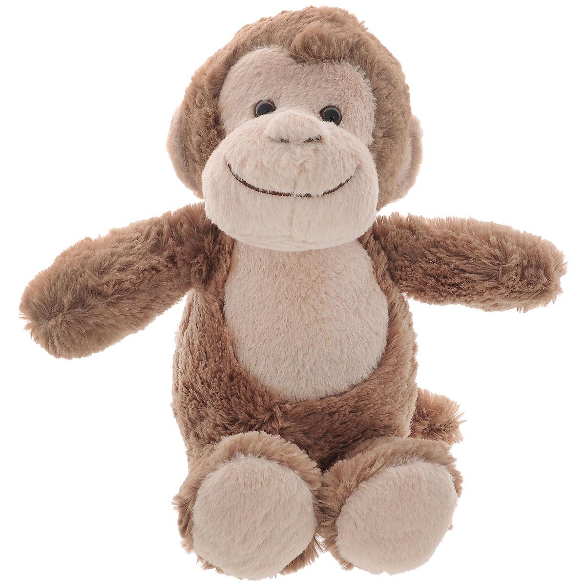 Мягкая игрушка Aurora Обезьянка, 21 см10-611Мягкая игрушка Aurora Обезьянка непременно вызовет улыбку у детей и взрослых. Изготовлена из приятных на ощупь и очень мягких материалов в виде милой обезьянки с дружелюбной улыбкой. Небольшие размеры игрушки позволяют брать ее на прогулку и в гости, поэтому малышу больше не придется расставаться со своим новым другом. Специальные гранулы, используемые при ее набивке, способствуют развитию мелкой моторики рук ребенка. Удивительная игрушка принесет радость и подарит своему обладателю мгновения нежных объятий и приятных воспоминаний.
